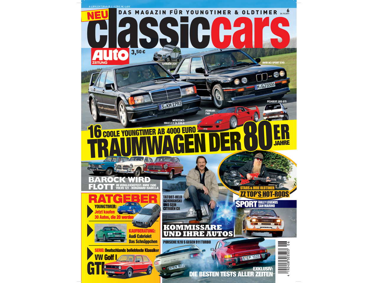 classic cars das neue magazin f r youngtimer und oldtimer. Black Bedroom Furniture Sets. Home Design Ideas