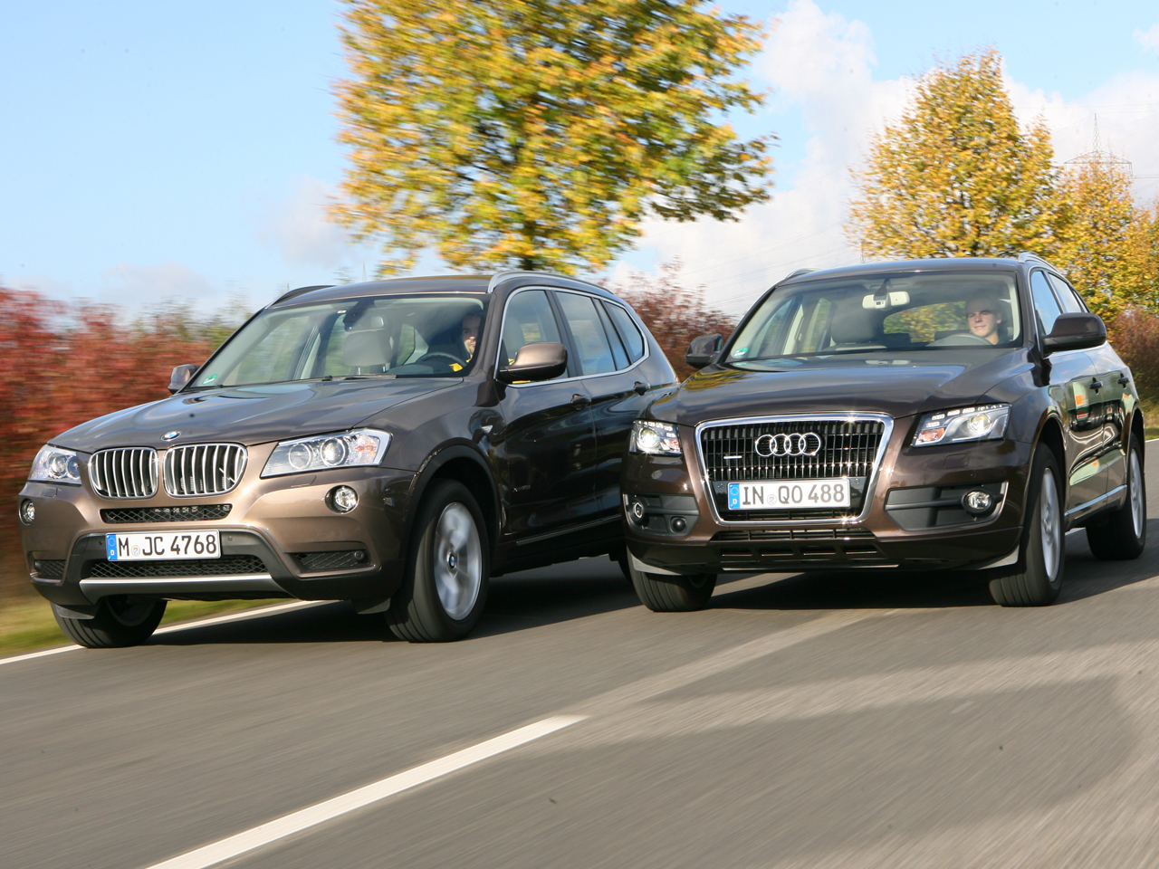 Audi gegen BMW – Markenvergleich Teil 8: Q5 und X3 im Test |