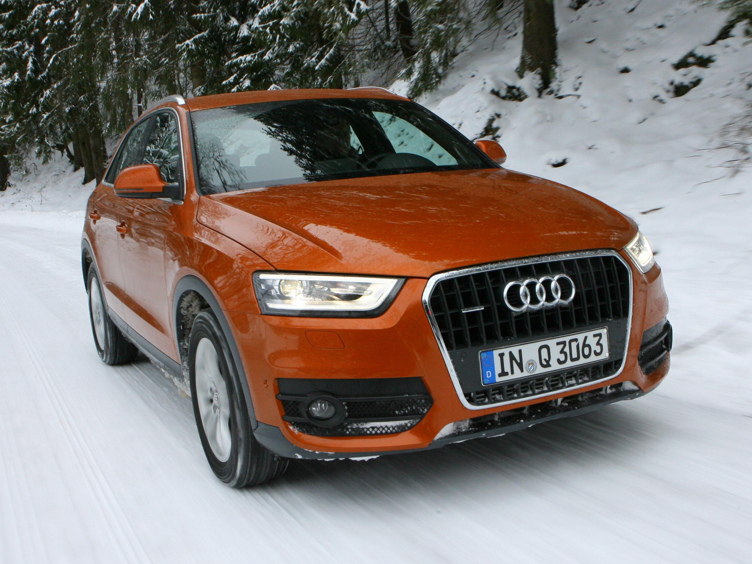 Audi Q3 und BMW X1 im SUV Vergleich