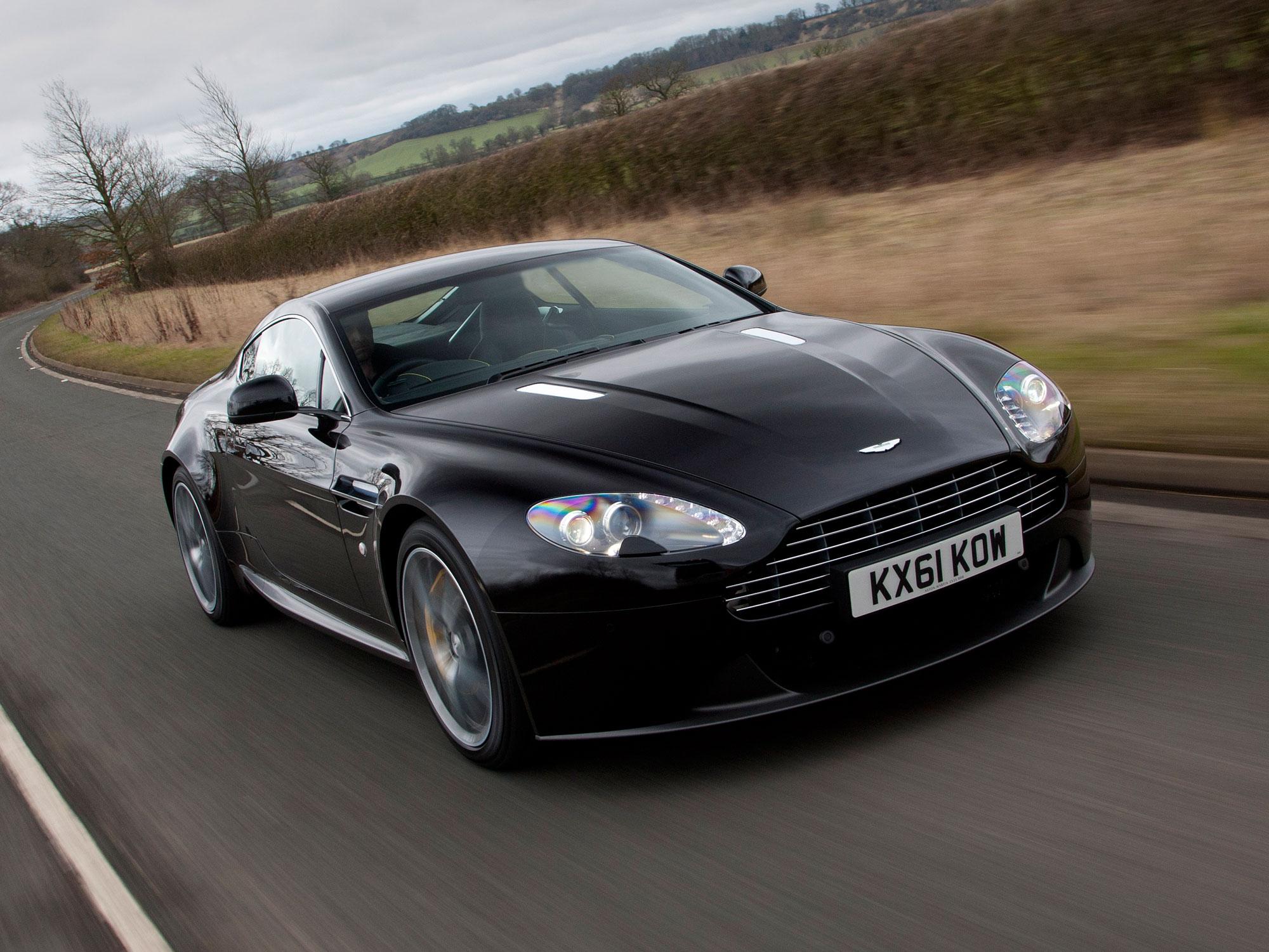 Aston Martin V8 Vantage 2012 Im Fahrbericht Autozeitung De