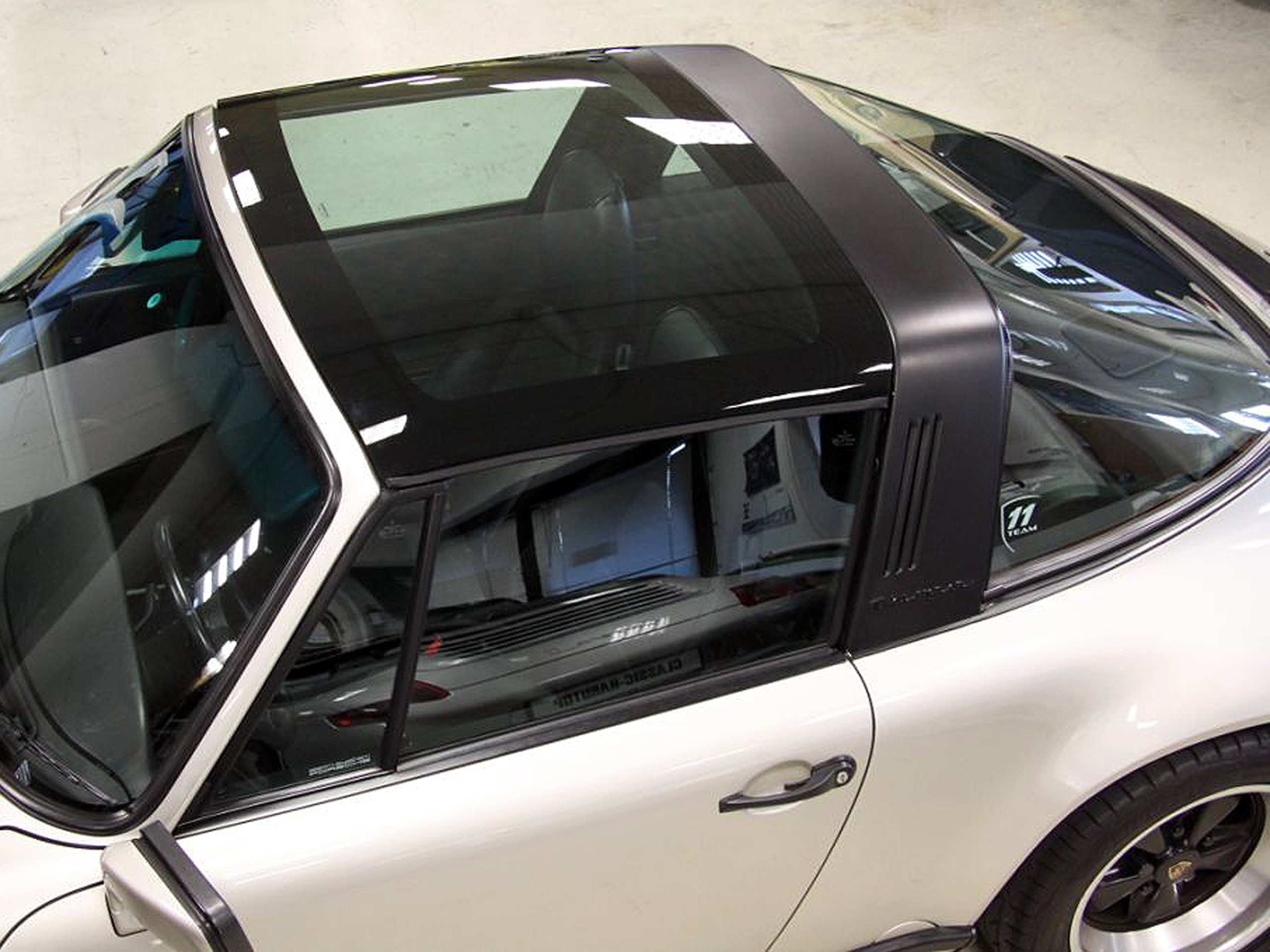 porsche 911 targa glasdach von gtn f r den klassiker. Black Bedroom Furniture Sets. Home Design Ideas