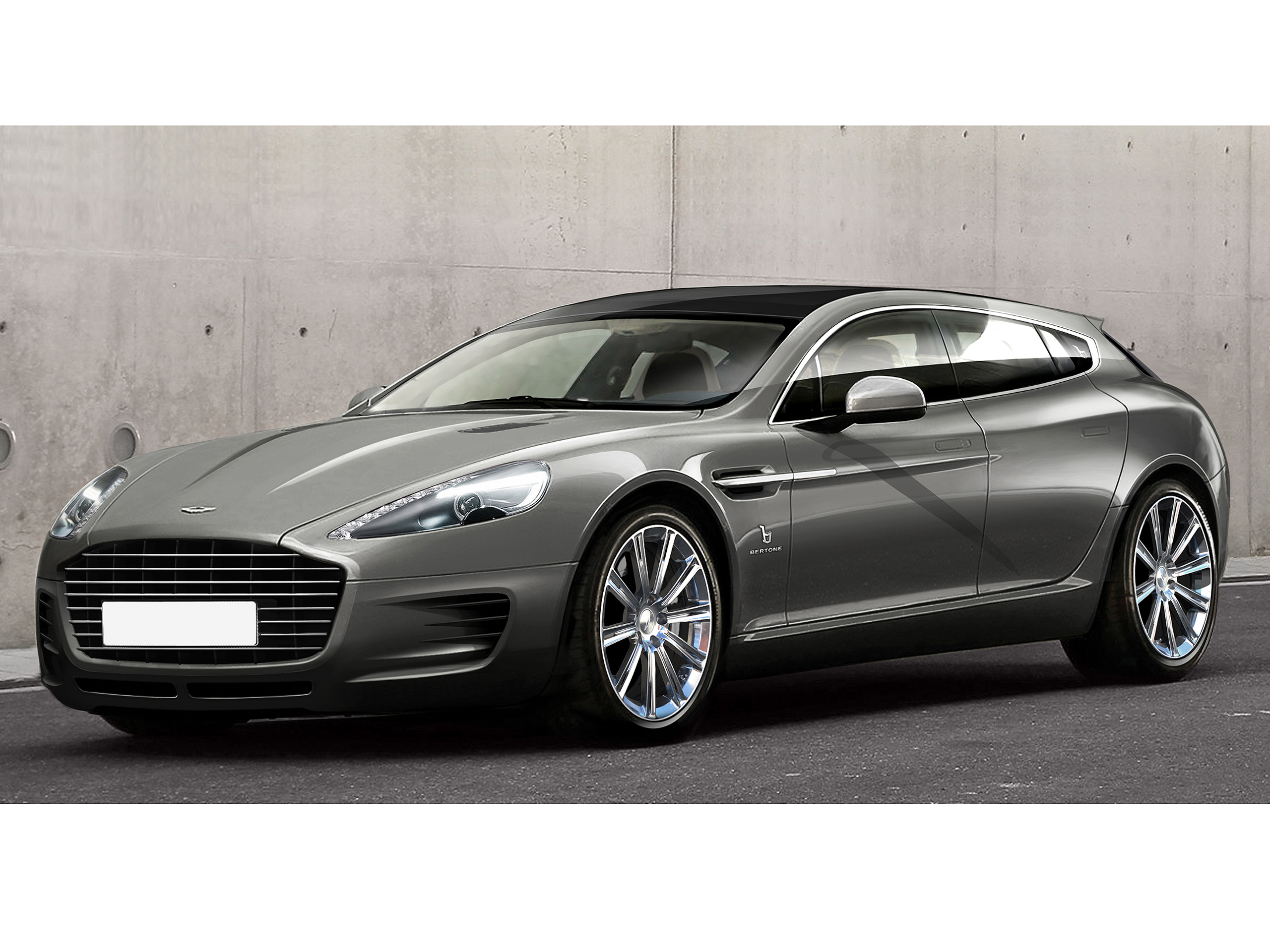 Bertone Aston Martin Rapide Kombi Beim Genfer Autosalon 2013