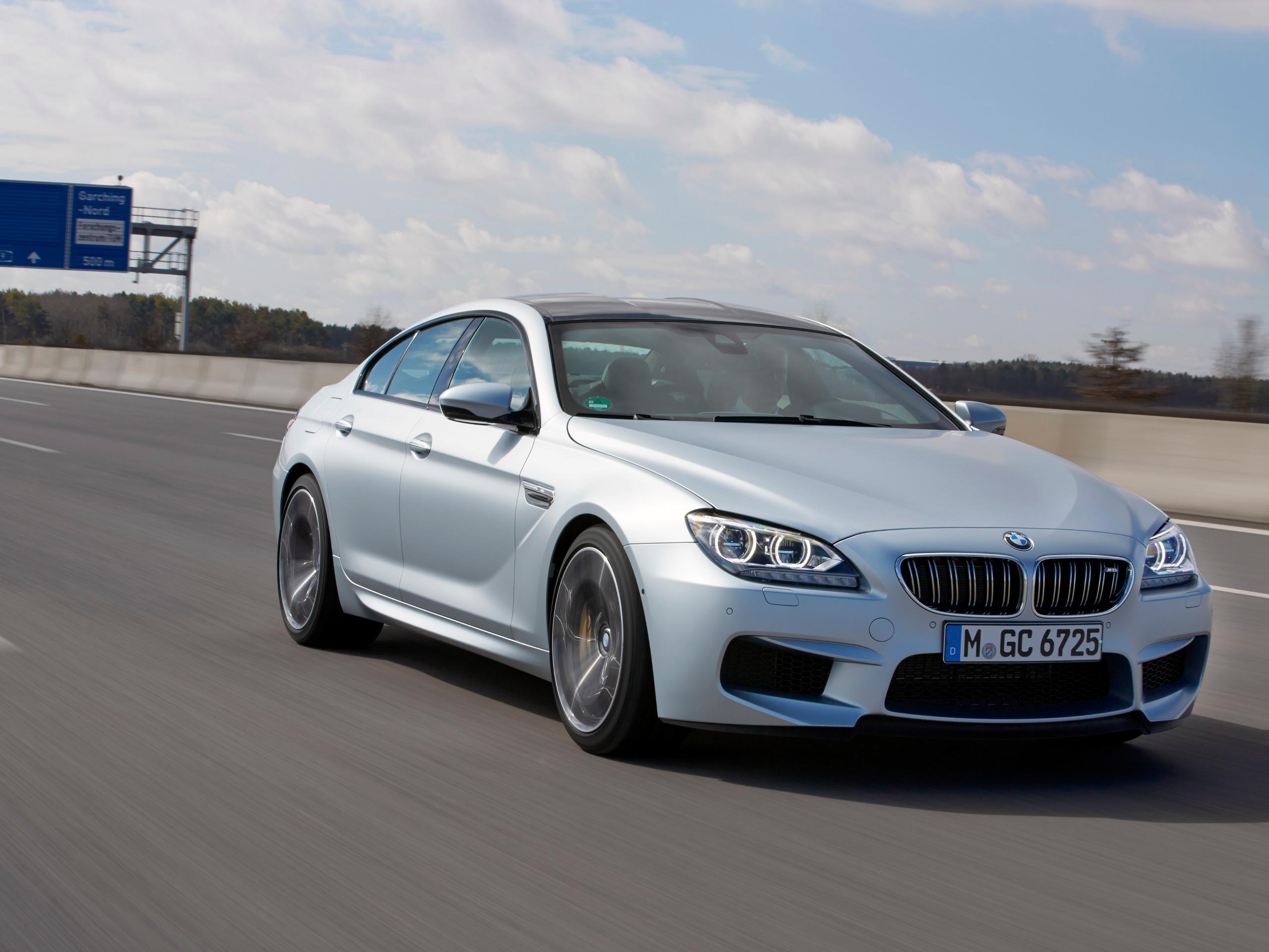 Fahrbericht BMW M6 Gran Coupé 2013 Bilder und technische Daten