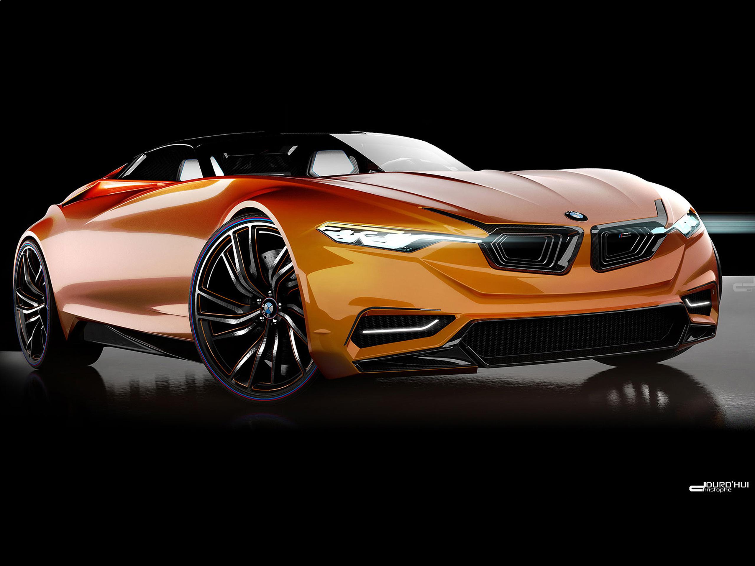 BMW MZ8: Design-Entwurf aus Frankreich zeigt Supersportler |