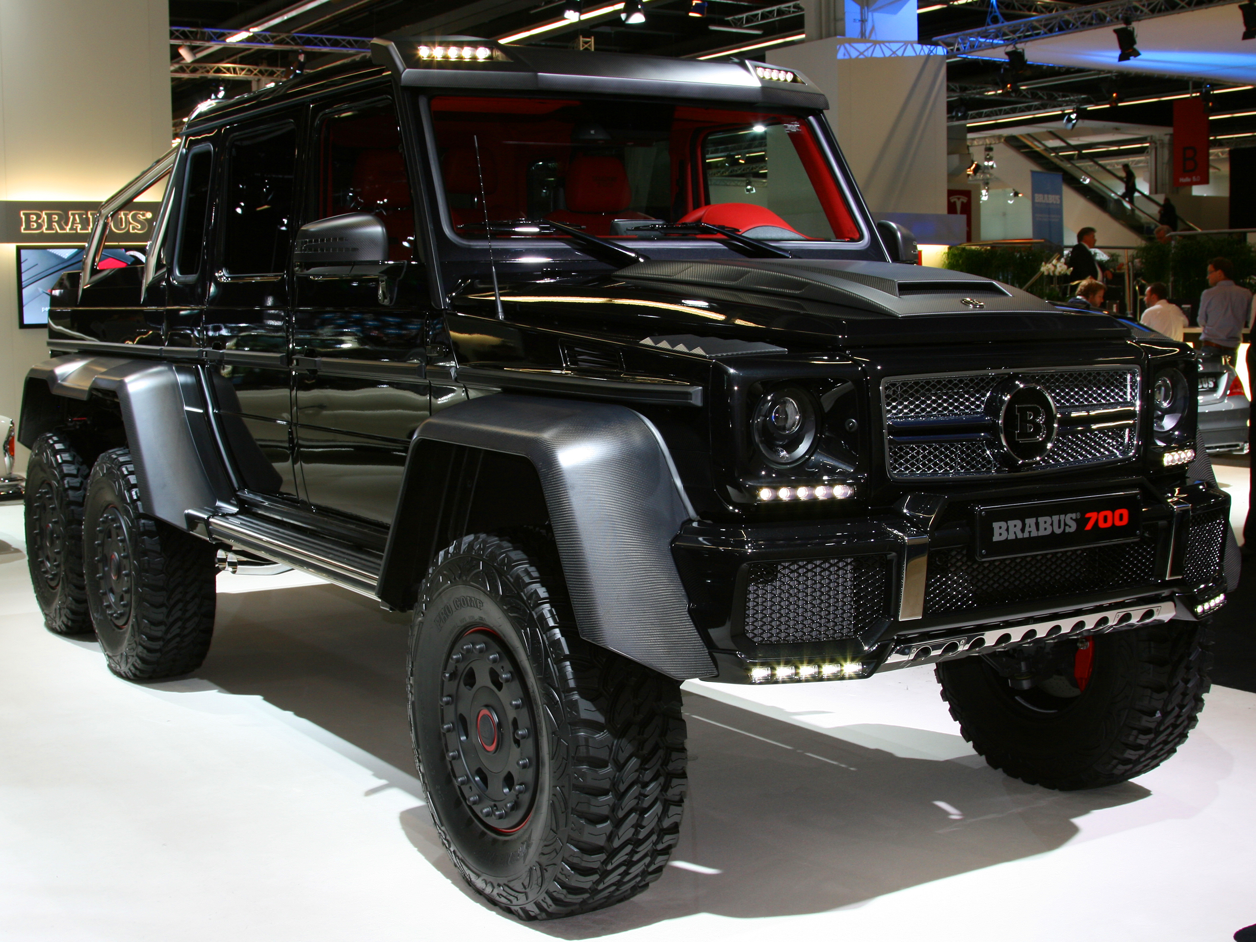 brabus b63s 700 6x6 auf der iaa 2013 g klasse tuning. Black Bedroom Furniture Sets. Home Design Ideas