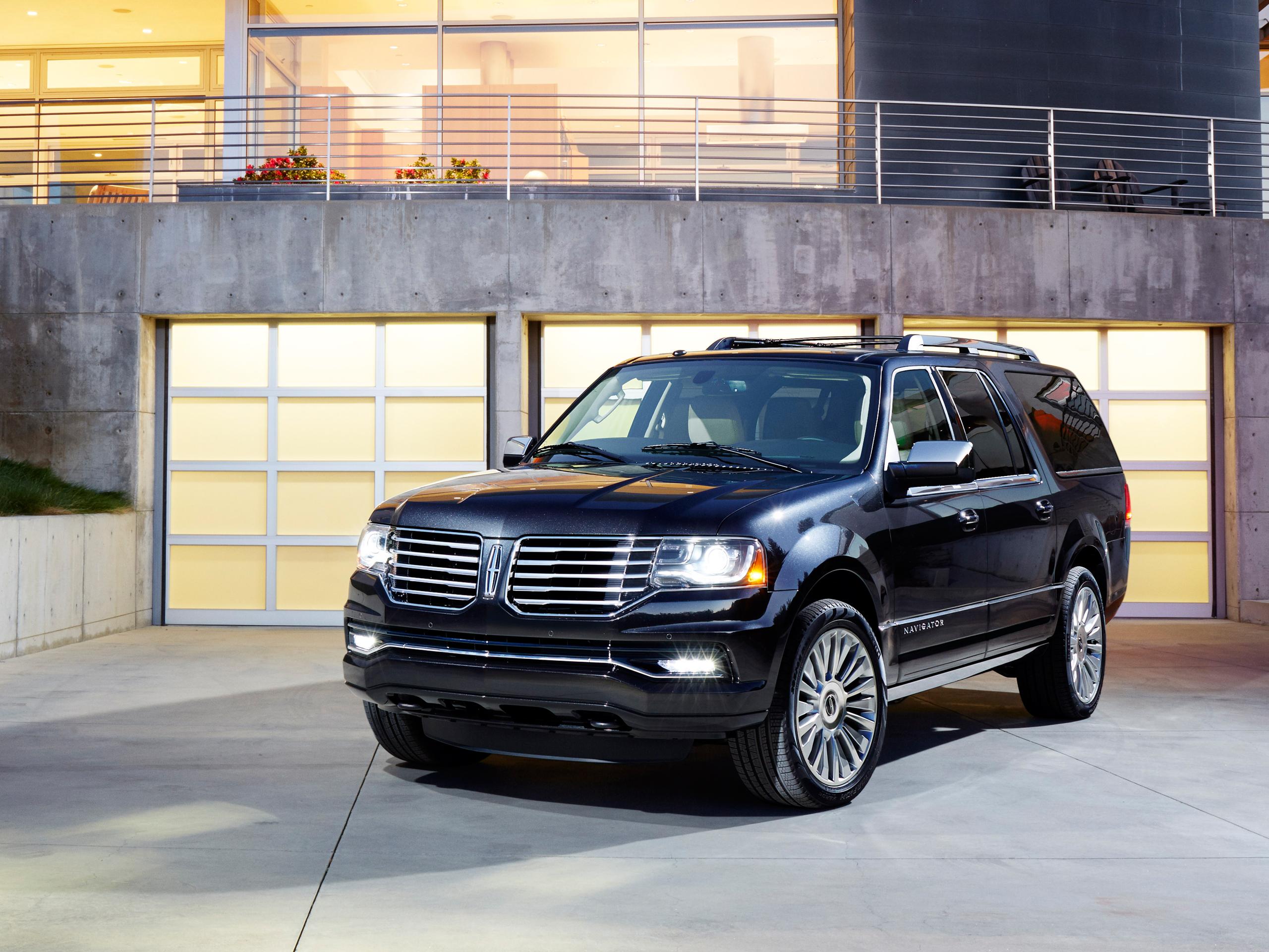 Lincoln Navigator Facelift: Premiere auf der Chicago Auto Show 8