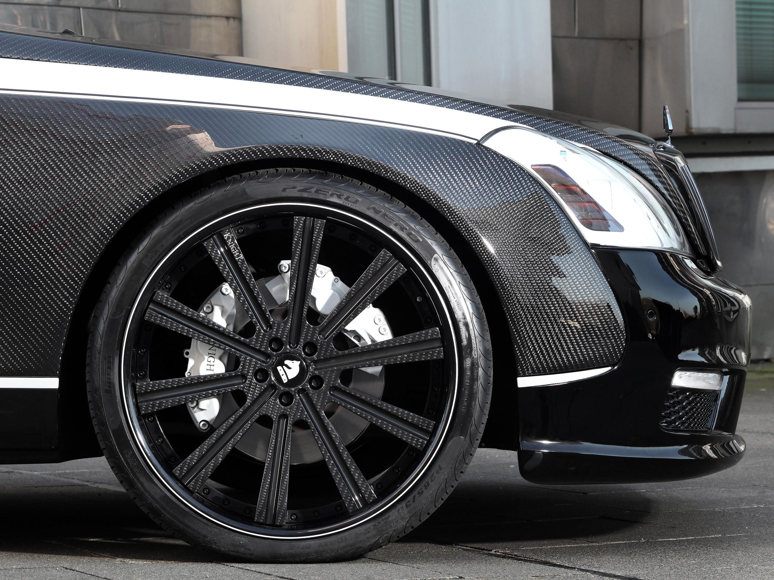 maybach 57s: tuning von knight luxury | autozeitung.de