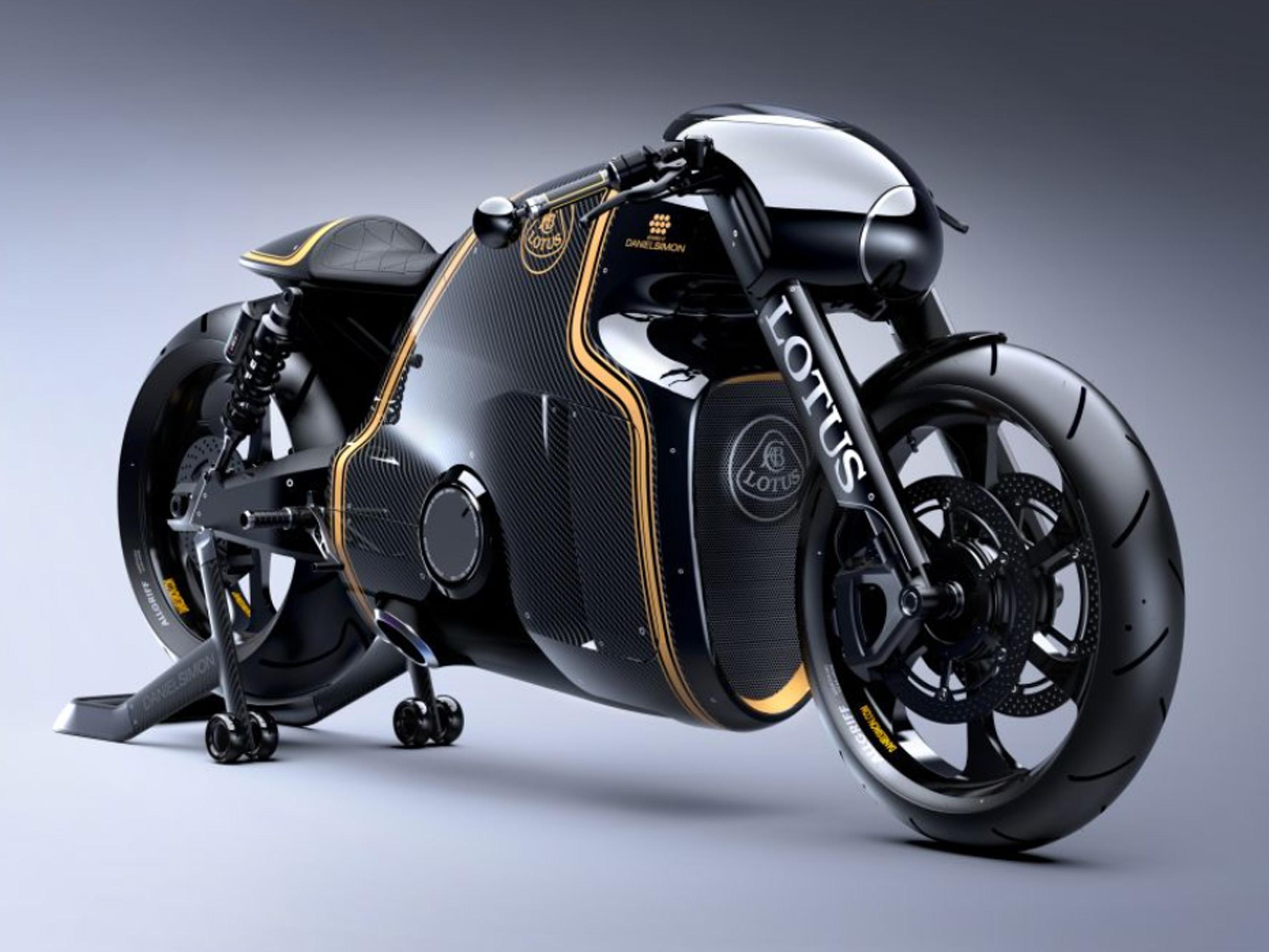 Lotus C 01 2014 Tron Motorrad Von Kodewa Vorgestellt