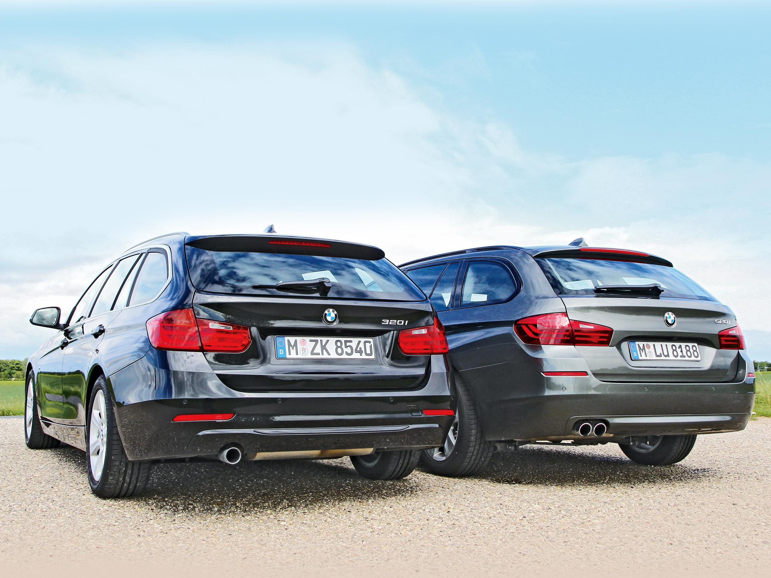 Bmw 3er Vs 5er Konzeptvergleich Von 320i Touring Und 520i Touring