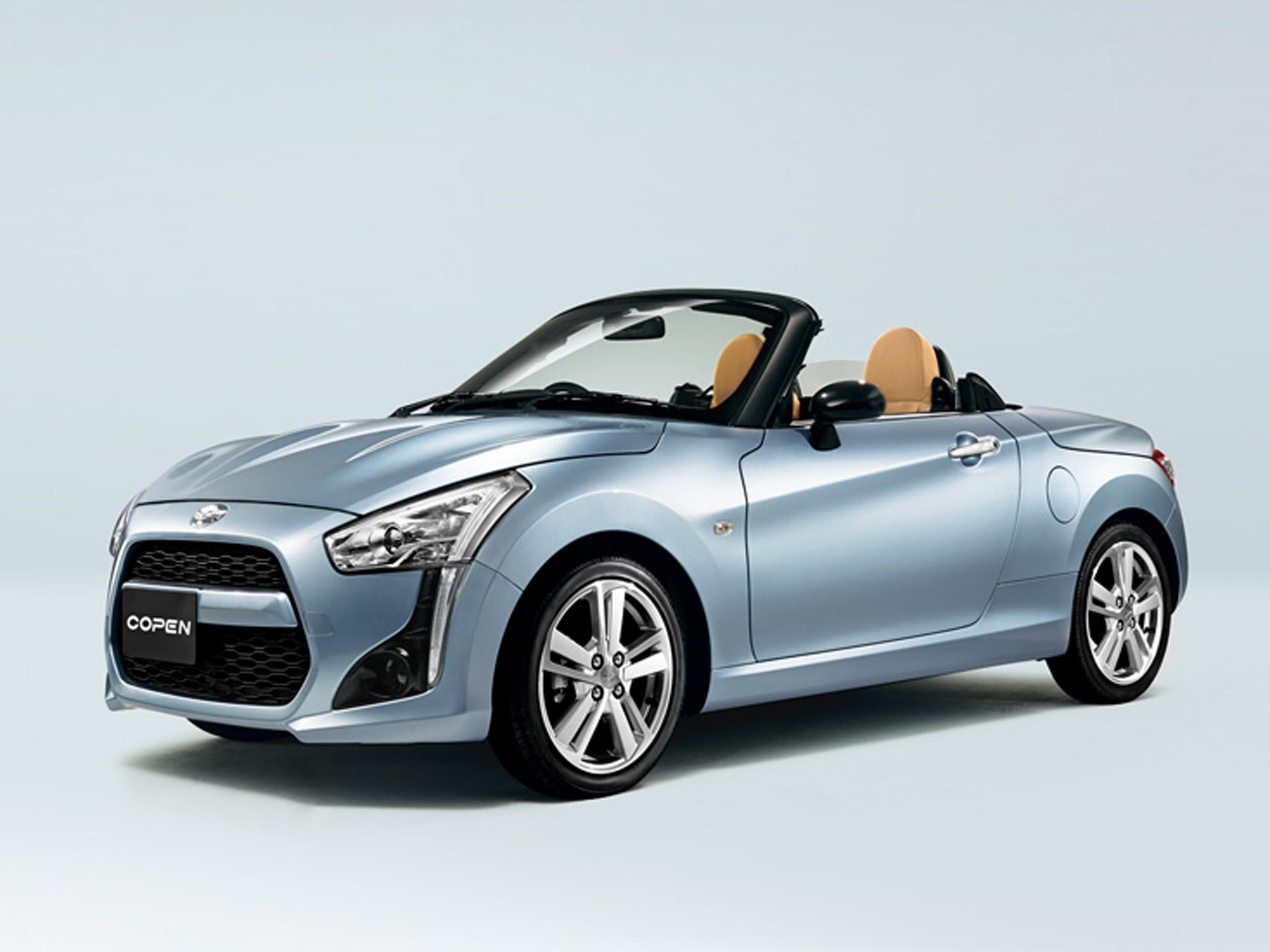 daihatsu copen 2014 neuer klappdach roadster in japan. Black Bedroom Furniture Sets. Home Design Ideas