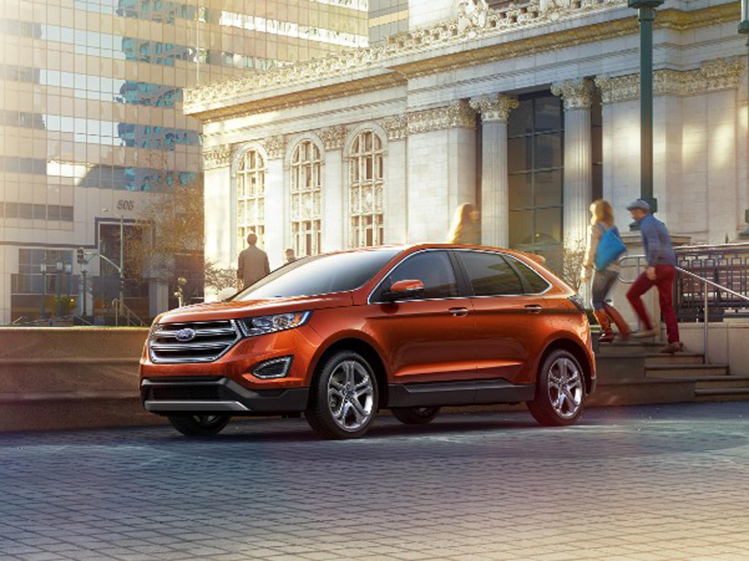 Ford Edge 2015 Markteinfuhrung Und Technische Daten