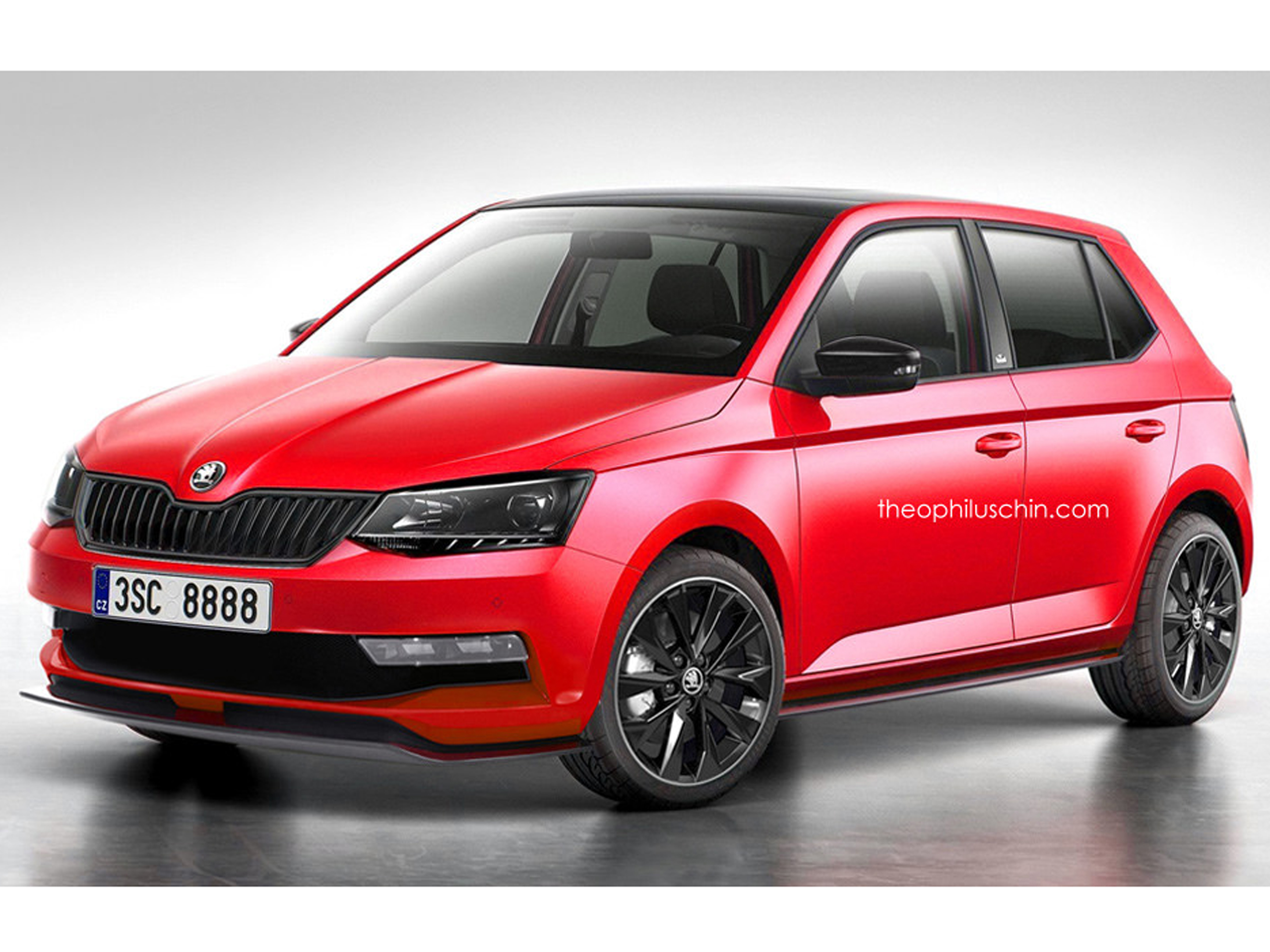 skoda fabia monte carlo 2015 kleinwagen mit sportpaket. Black Bedroom Furniture Sets. Home Design Ideas