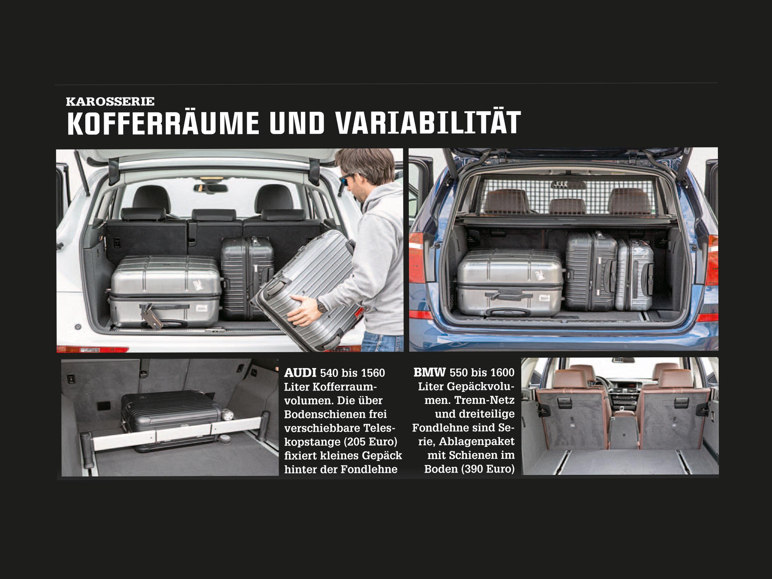 BMW X3 xDrive30d vs Audi Q5 3 0 TDI clean sel quattro