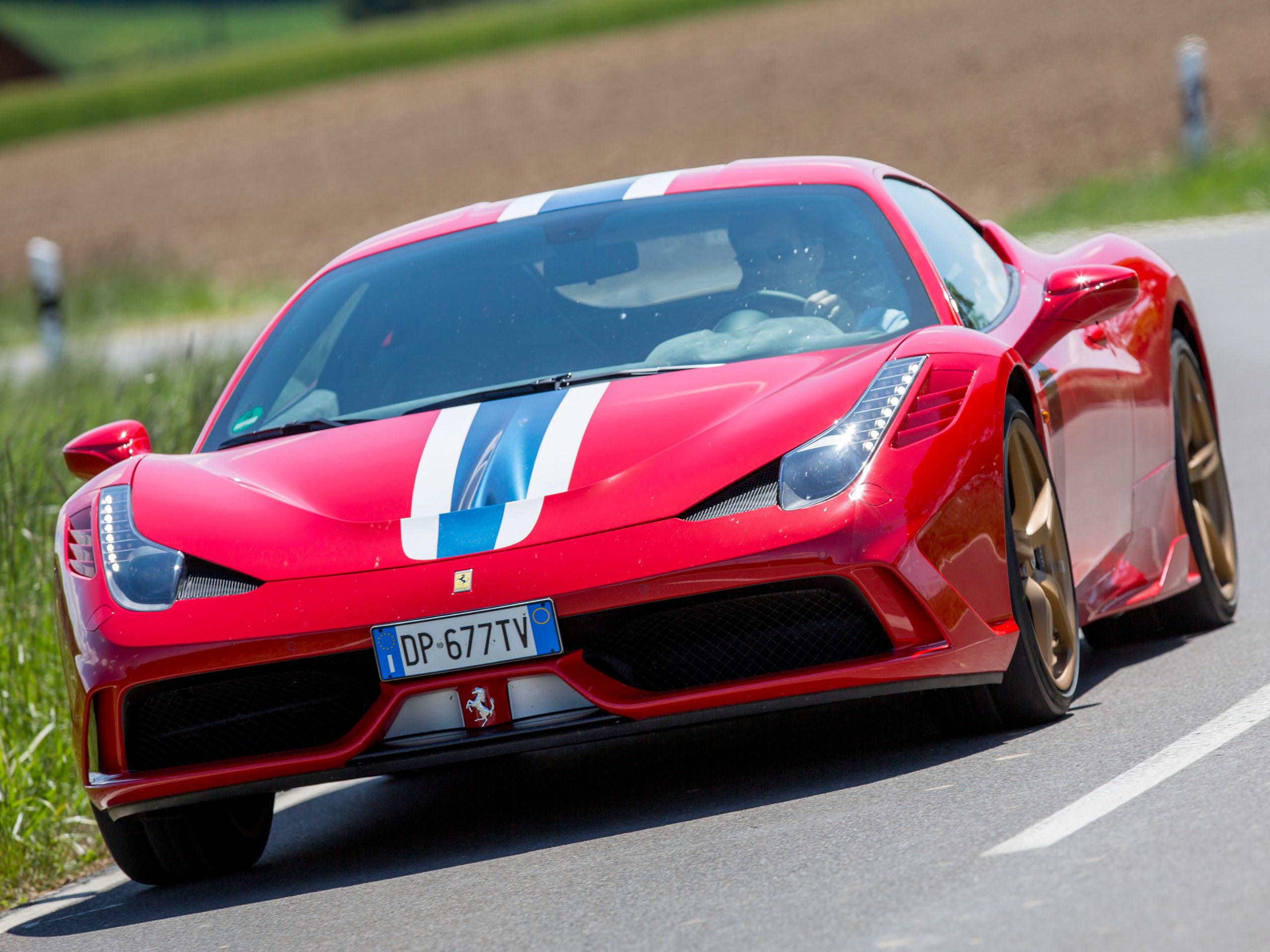 Fiat Chrysler Trennt Sich Vom Sportwagen Hersteller Ferrari