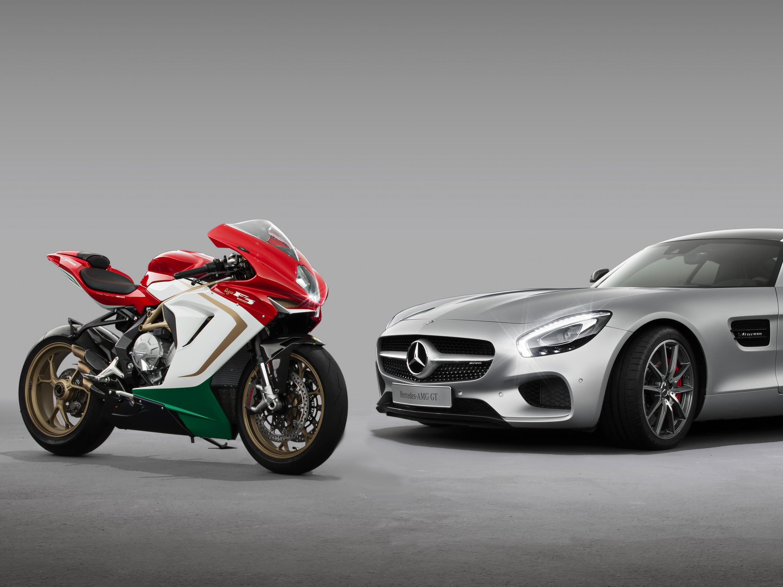 Mv Agusta Mercedes Erwirbt 25 Prozent Am Motorrad Bauer