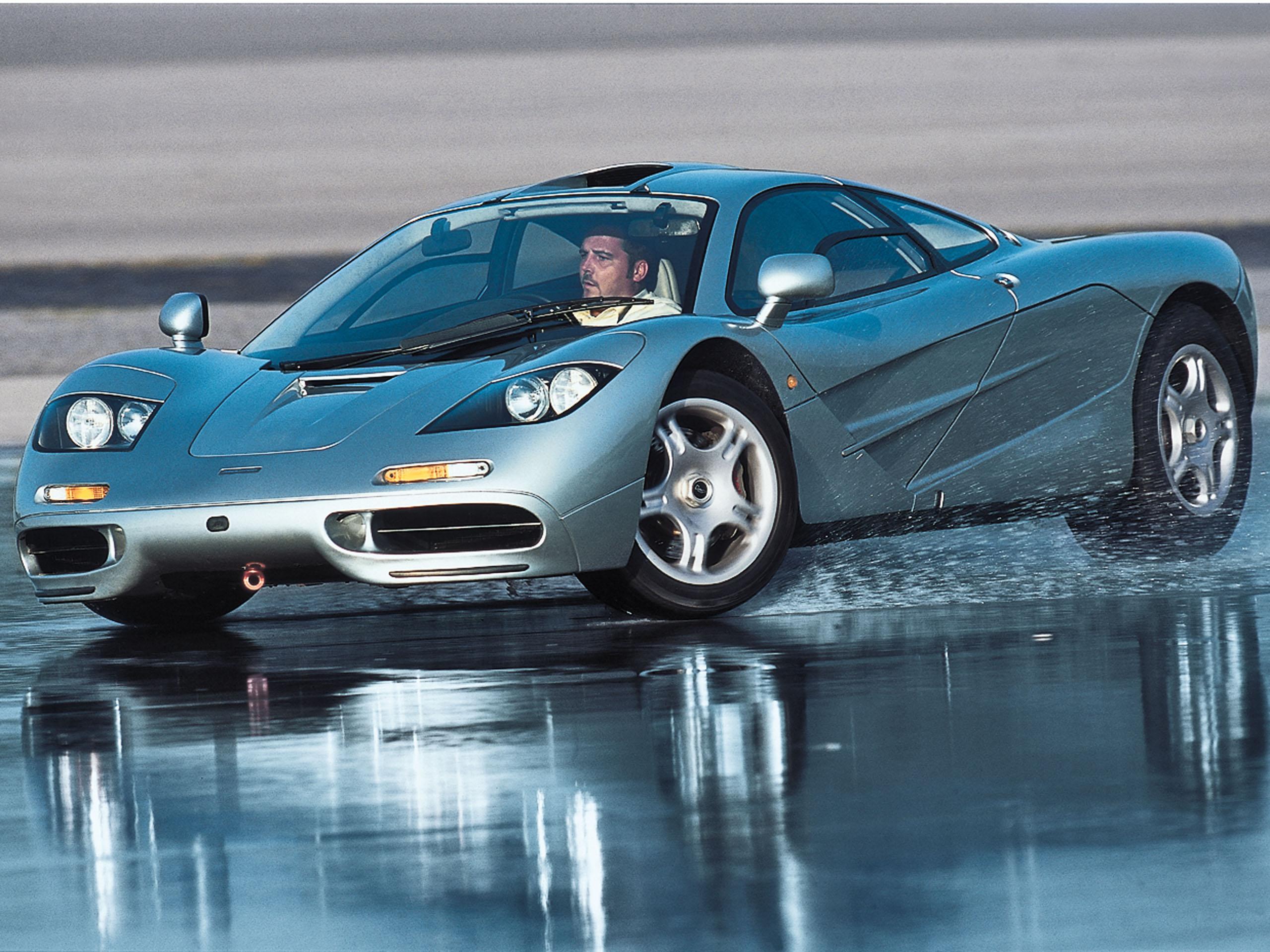 mclaren f1: v12-supersportler im fahrbericht | autozeitung.de