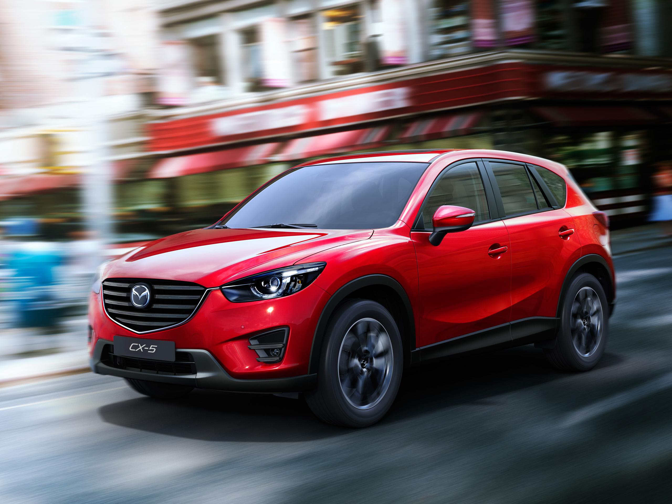 Kia Las Vegas >> Mazda CX-5 und 6: Facelift 2015 für SUV und Mittelklasse