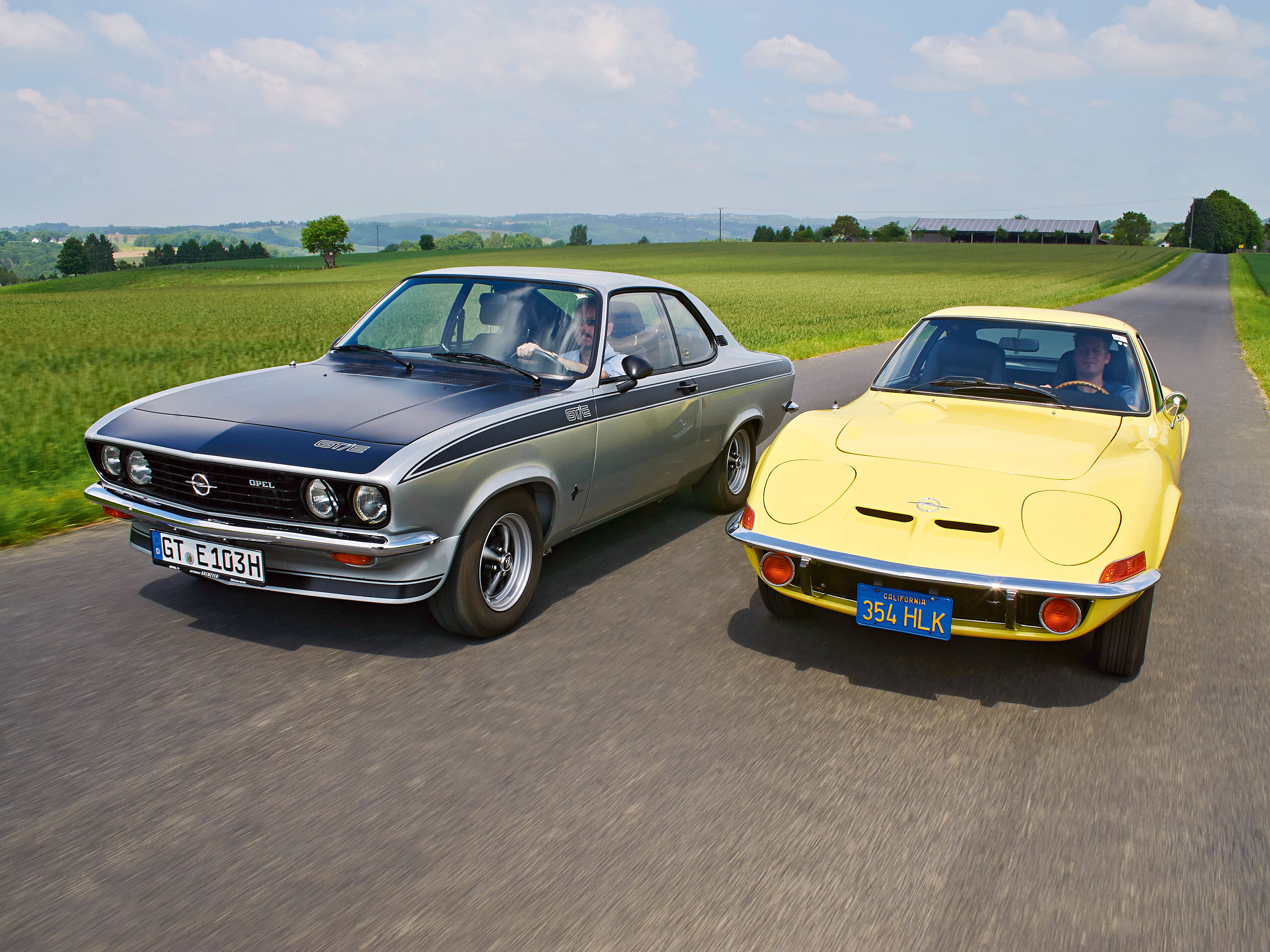 opel manta a gt e vs opel gt vergleich. Black Bedroom Furniture Sets. Home Design Ideas
