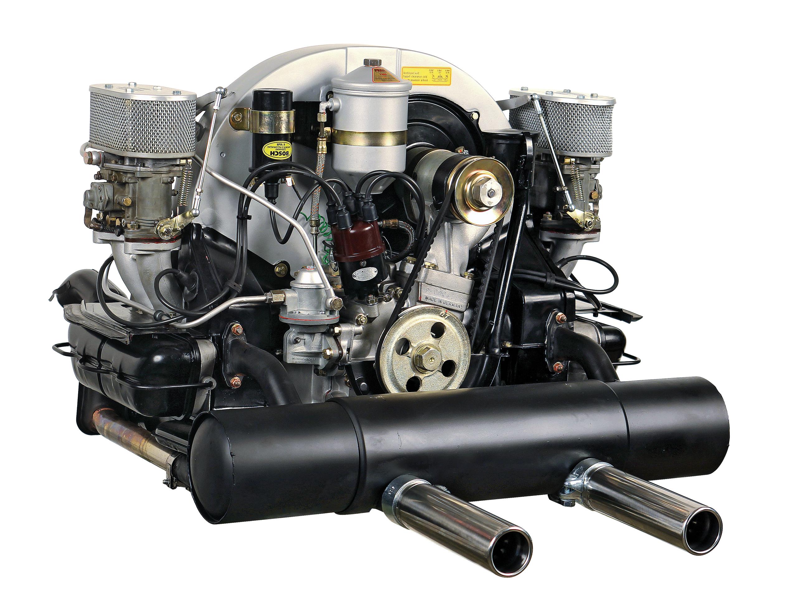 Porsche 356 B Super 90 Der Vierzylinder Boxer Motor