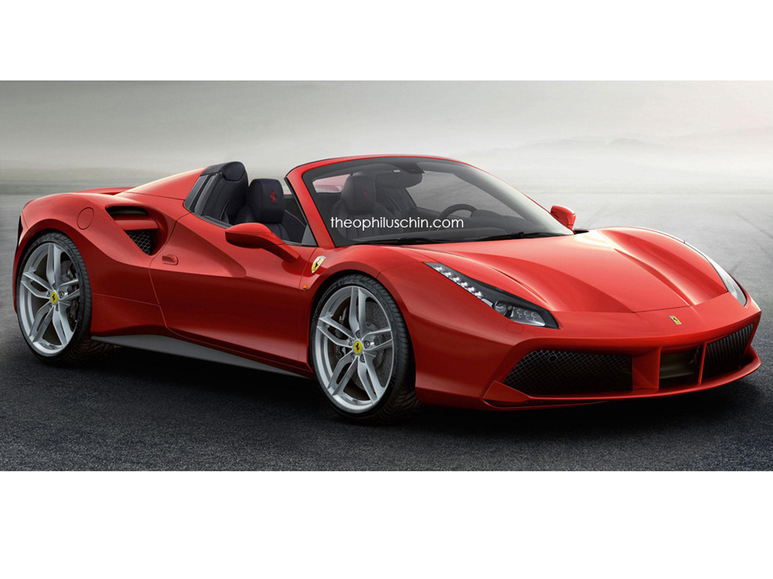 2020 Ferrari 488 GTB New Concept