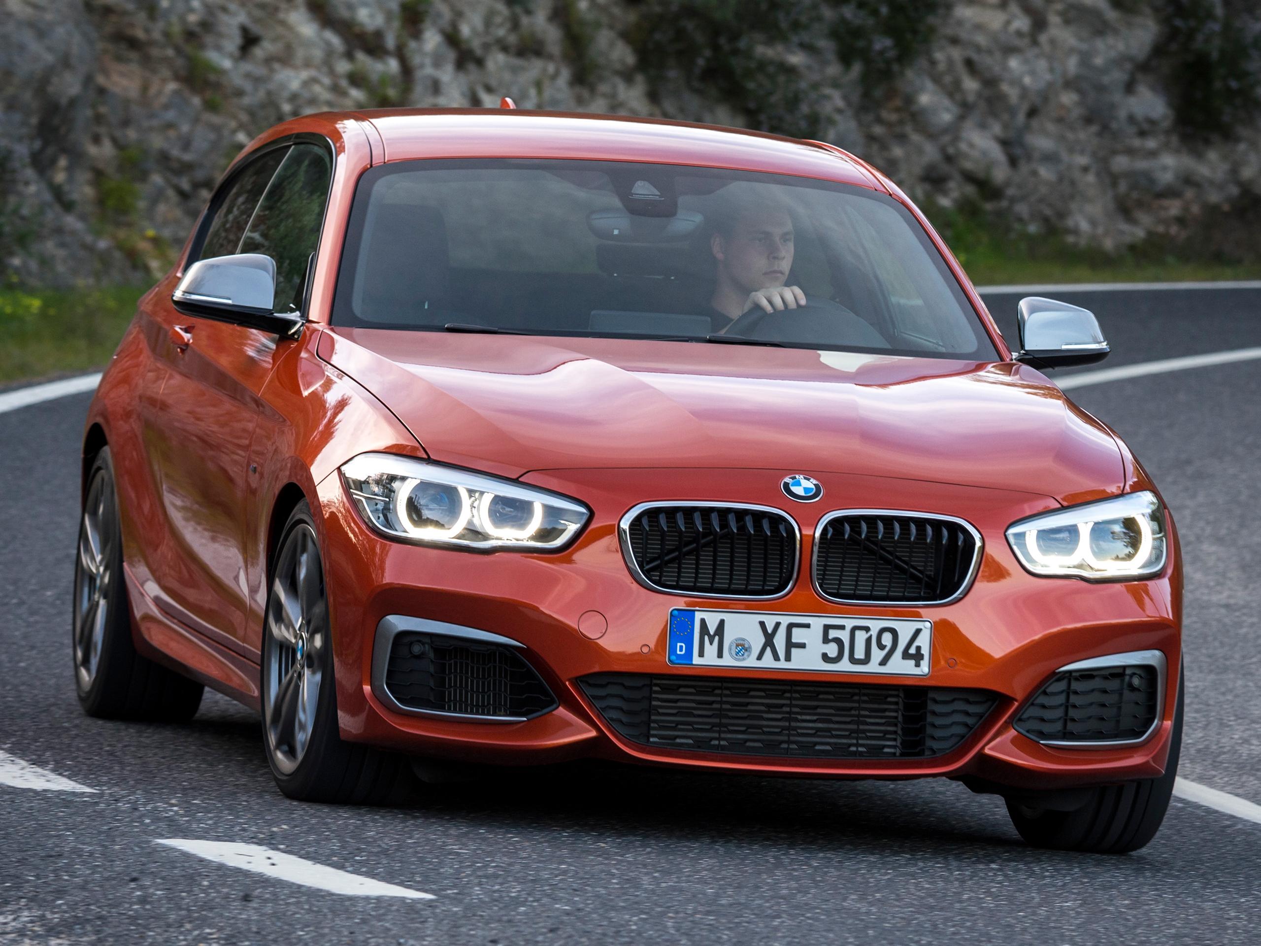 Neues BMW 1er Facelift 2015 Erste Testfahrt