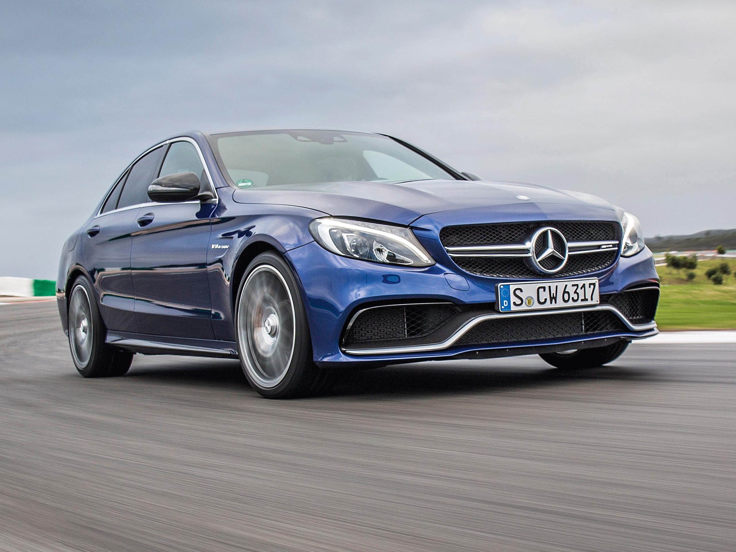 Neuer Mercedes AMG C 63 S 2015 Erste Fahrt