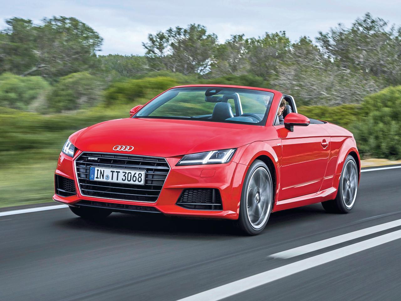 Audi TT Roadster 2.0 TFSI quattro: Test | autozeitung.de
