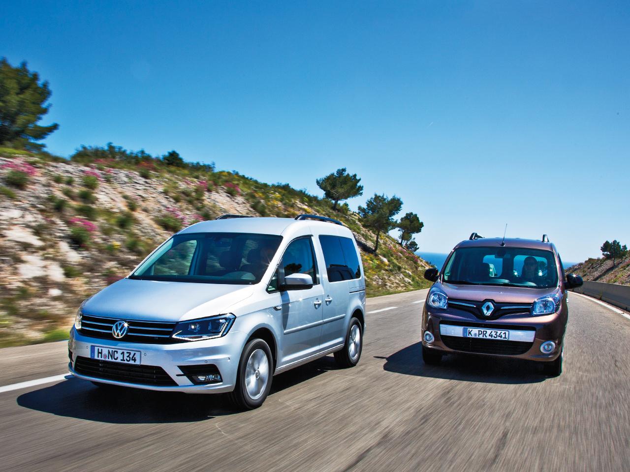 Vw Caddy Renault Kangoo Vergleichstest Autozeitung De