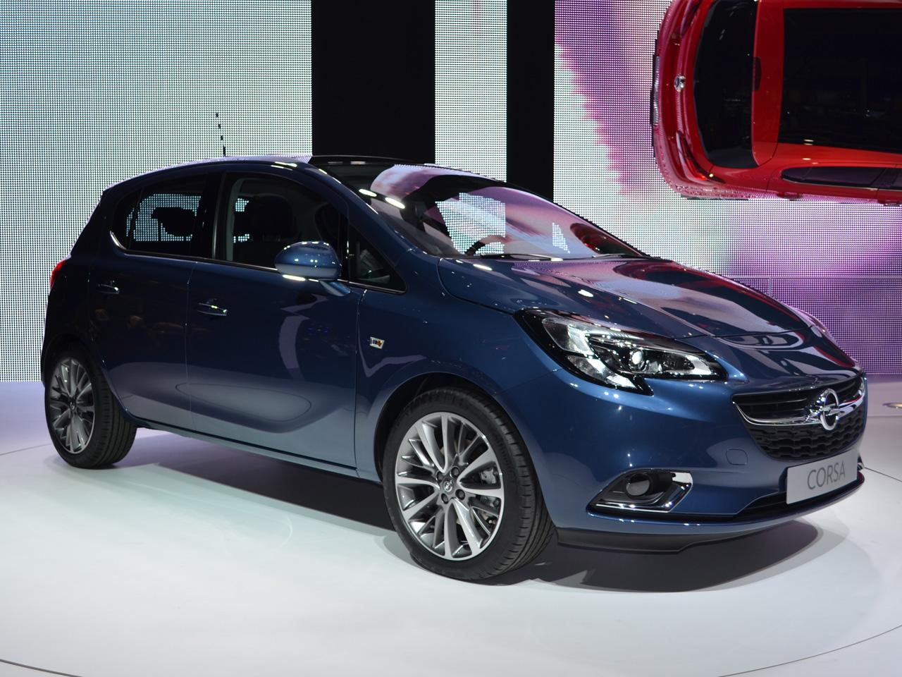 Opel Corsa E 2015 Live Bilder Vom Pariser Autosalon