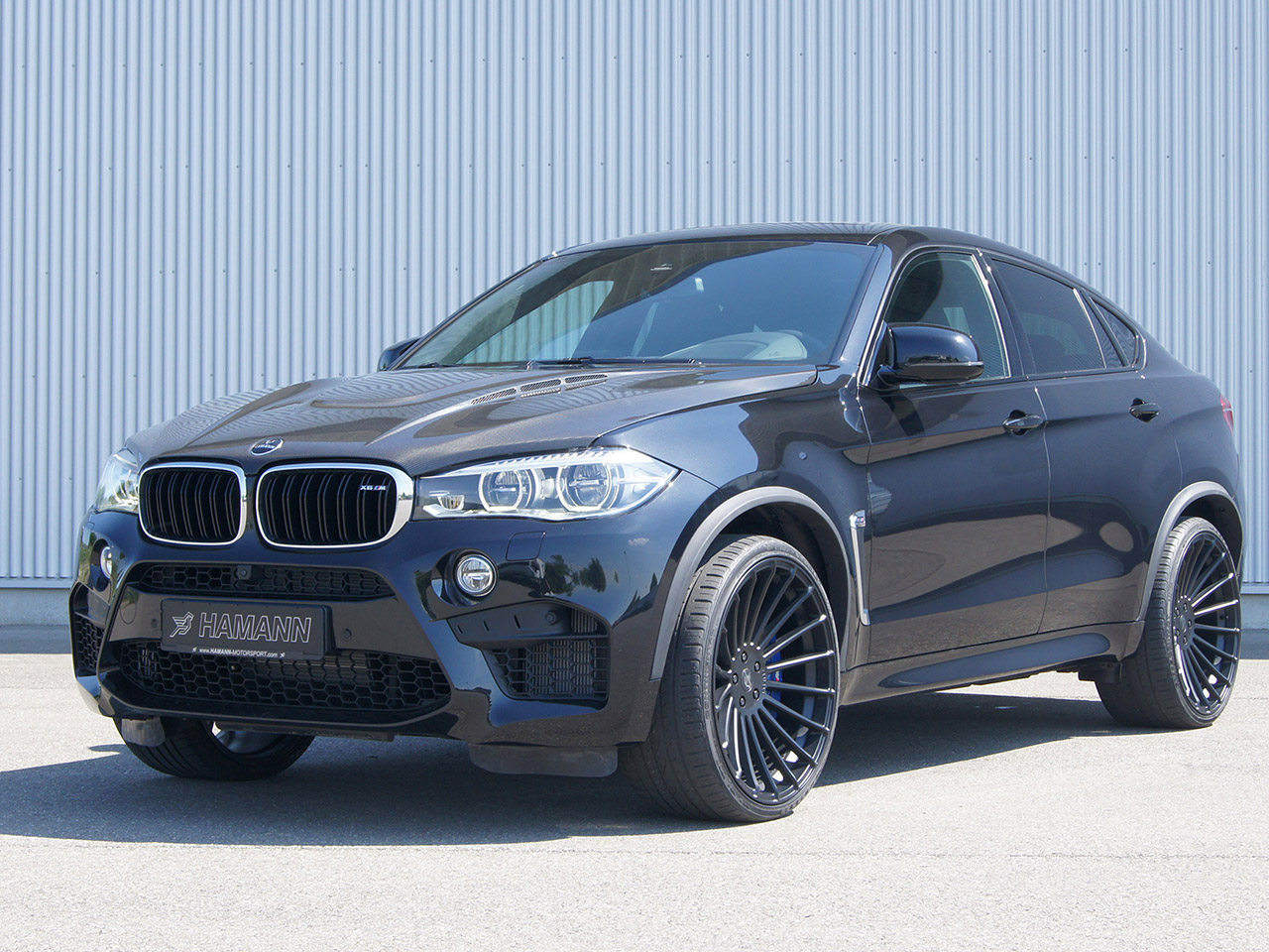 bmw x6 m f86 von tuner hamann. Black Bedroom Furniture Sets. Home Design Ideas