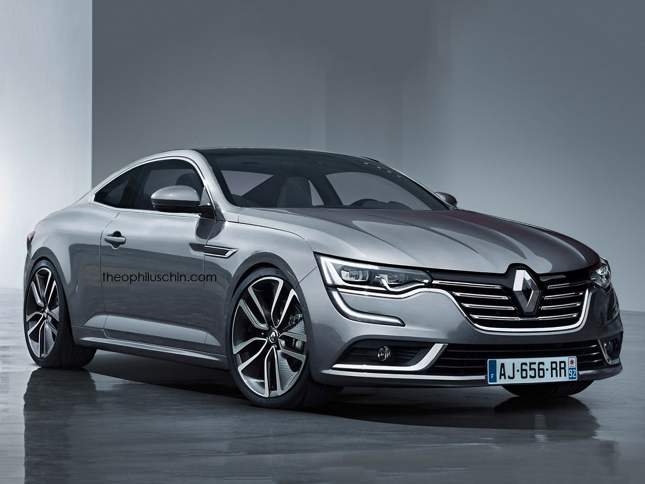 renault talisman coup illustration. Black Bedroom Furniture Sets. Home Design Ideas