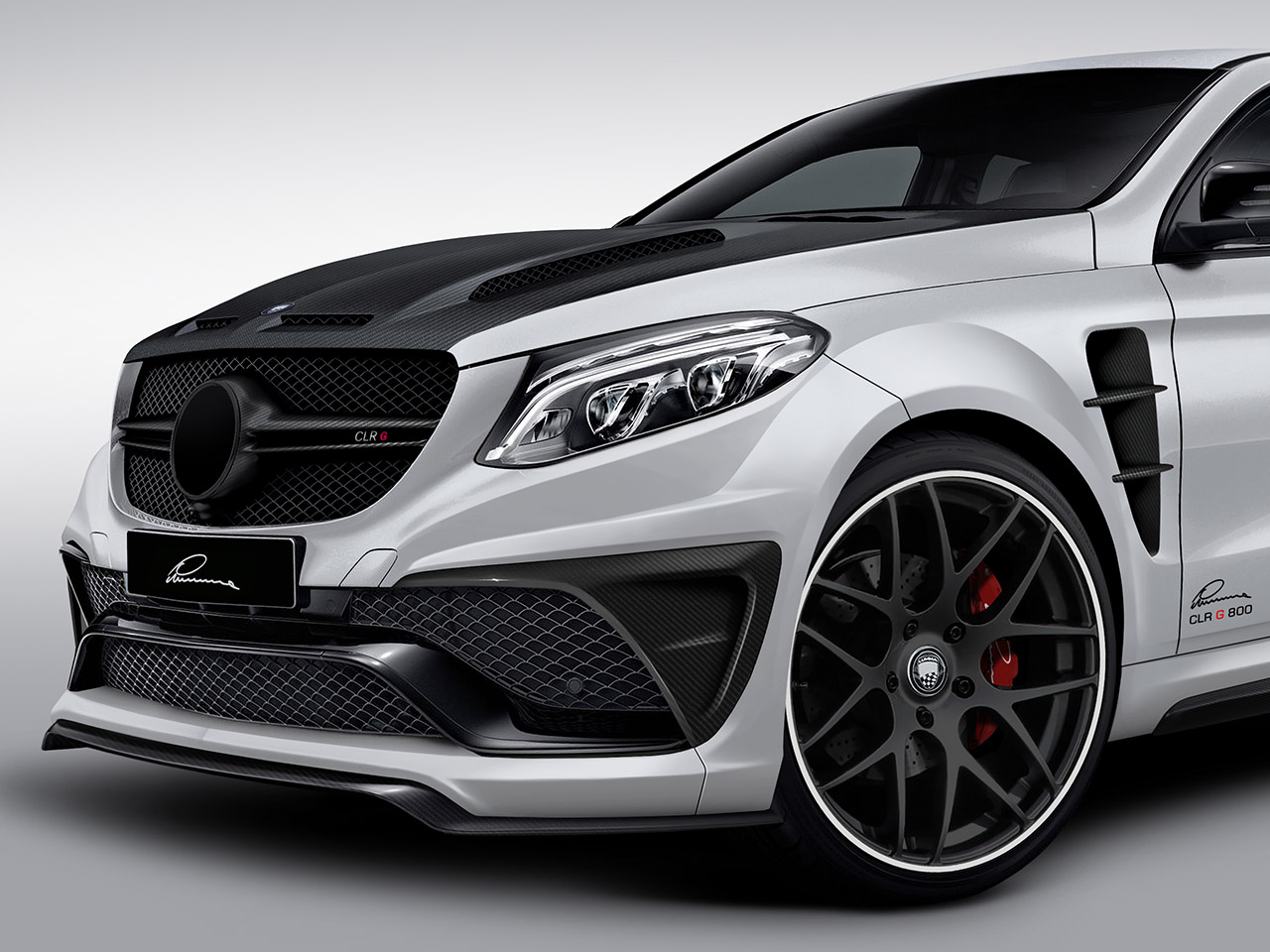 mercedes gle coup tuning von lumma. Black Bedroom Furniture Sets. Home Design Ideas