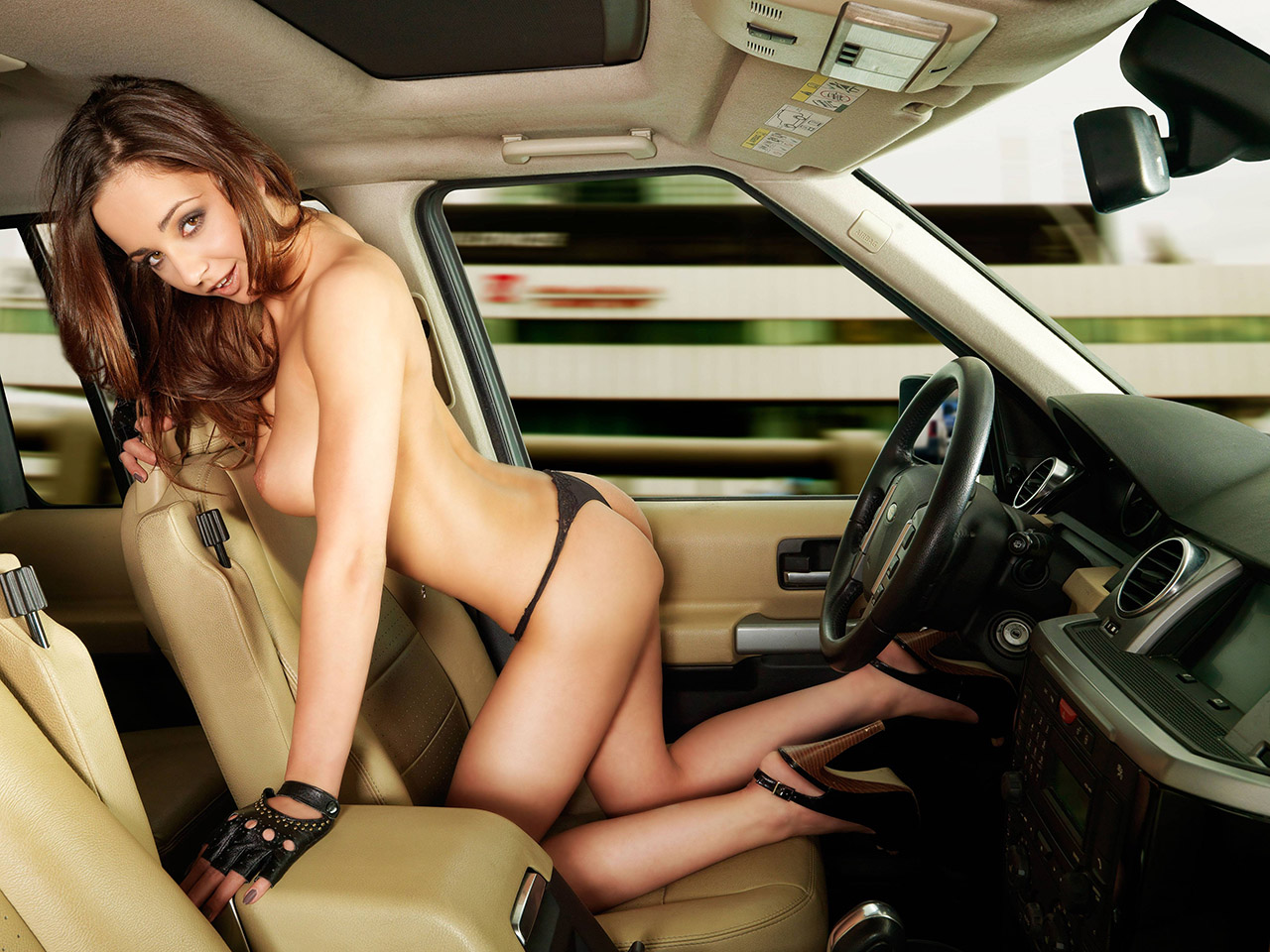 Im Auto Sex