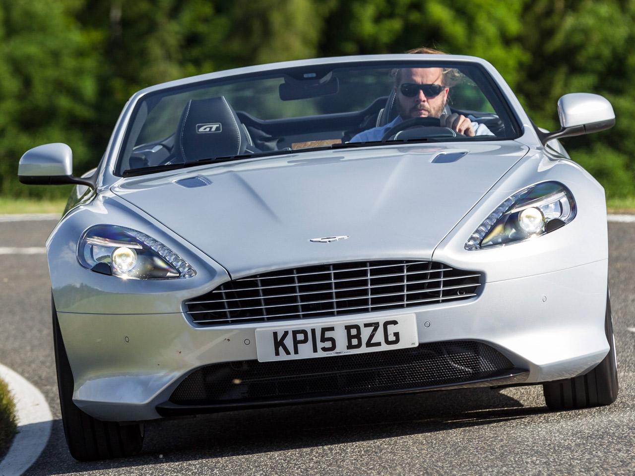 Aston Martin Db9 Gt Volante Fahrbericht Autozeitung De