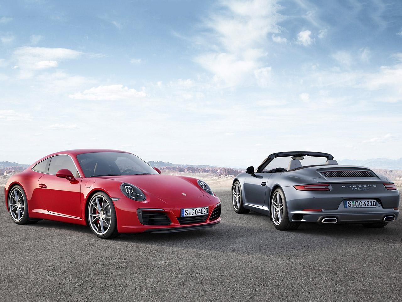 Porsche 911 Facelift vorgestellt