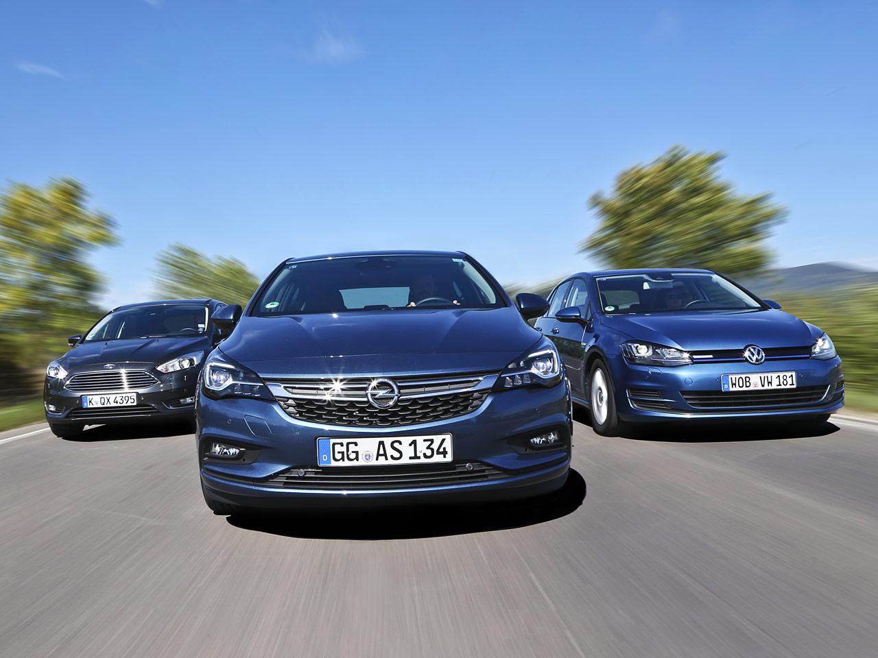 Ford Focus/Opel Astra/VW Golf: Vergleich   autozeitung.de