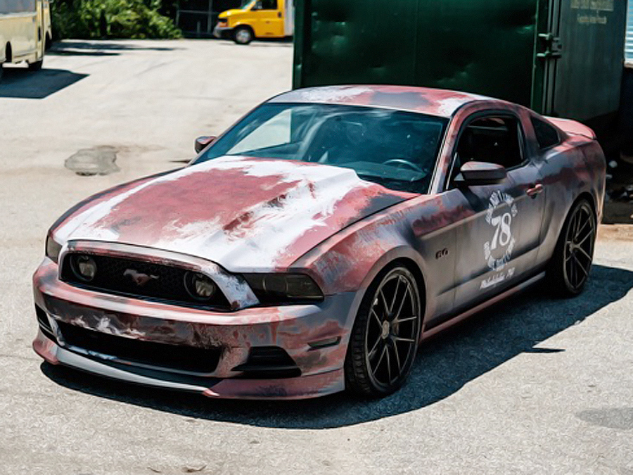 Mustang-Rostlaube mit über 700 PS