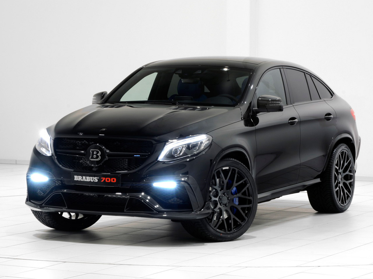 mercedes gle coup tuning von brabus. Black Bedroom Furniture Sets. Home Design Ideas