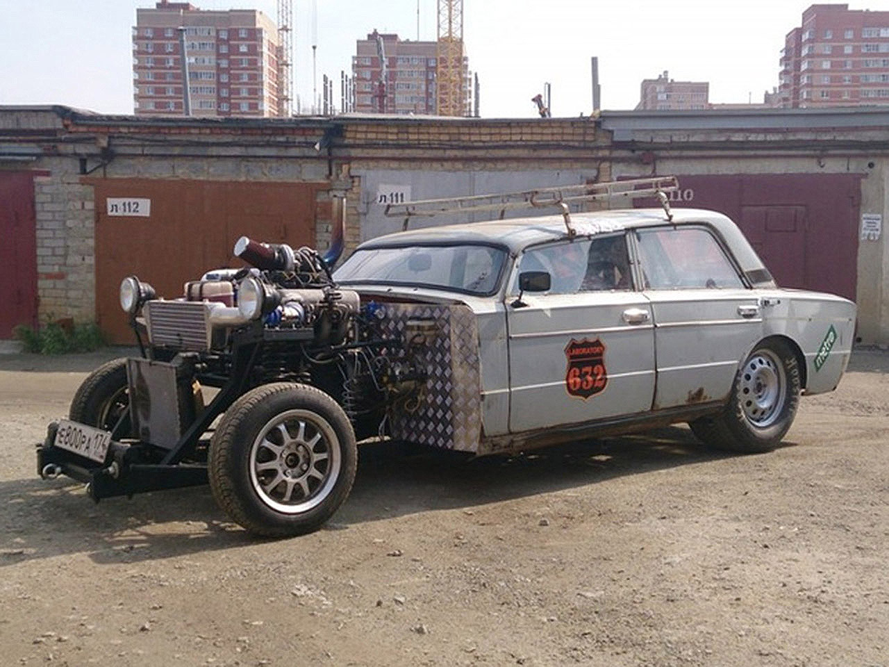 lada 1500 kurioses rat rod tuning. Black Bedroom Furniture Sets. Home Design Ideas