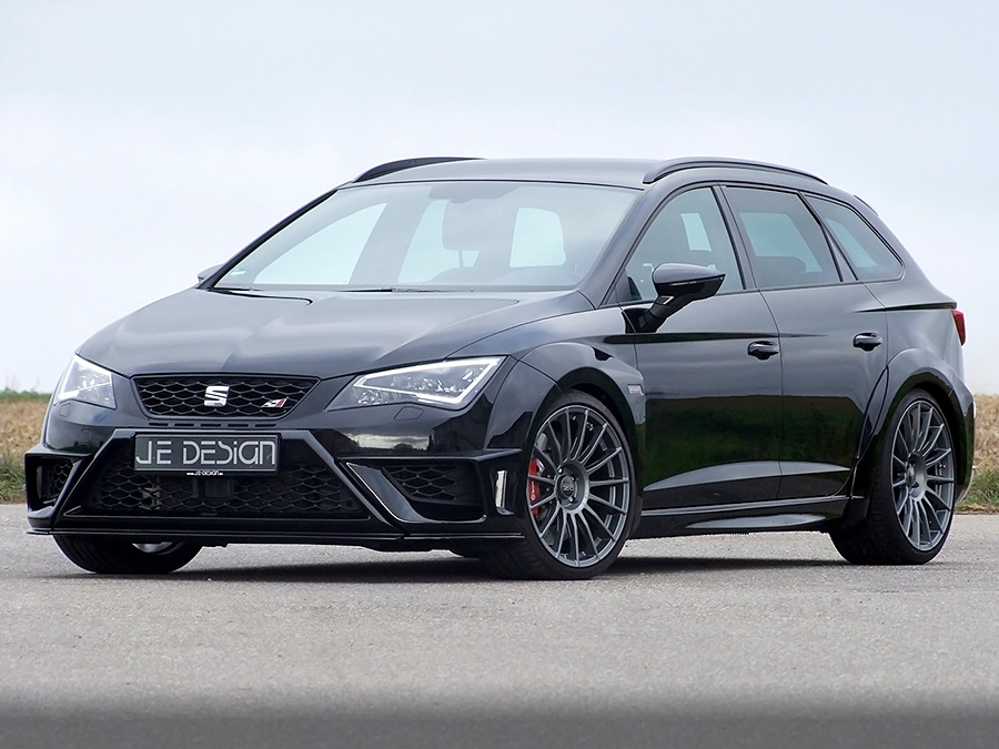 seat leon cupra st tuning von je design. Black Bedroom Furniture Sets. Home Design Ideas