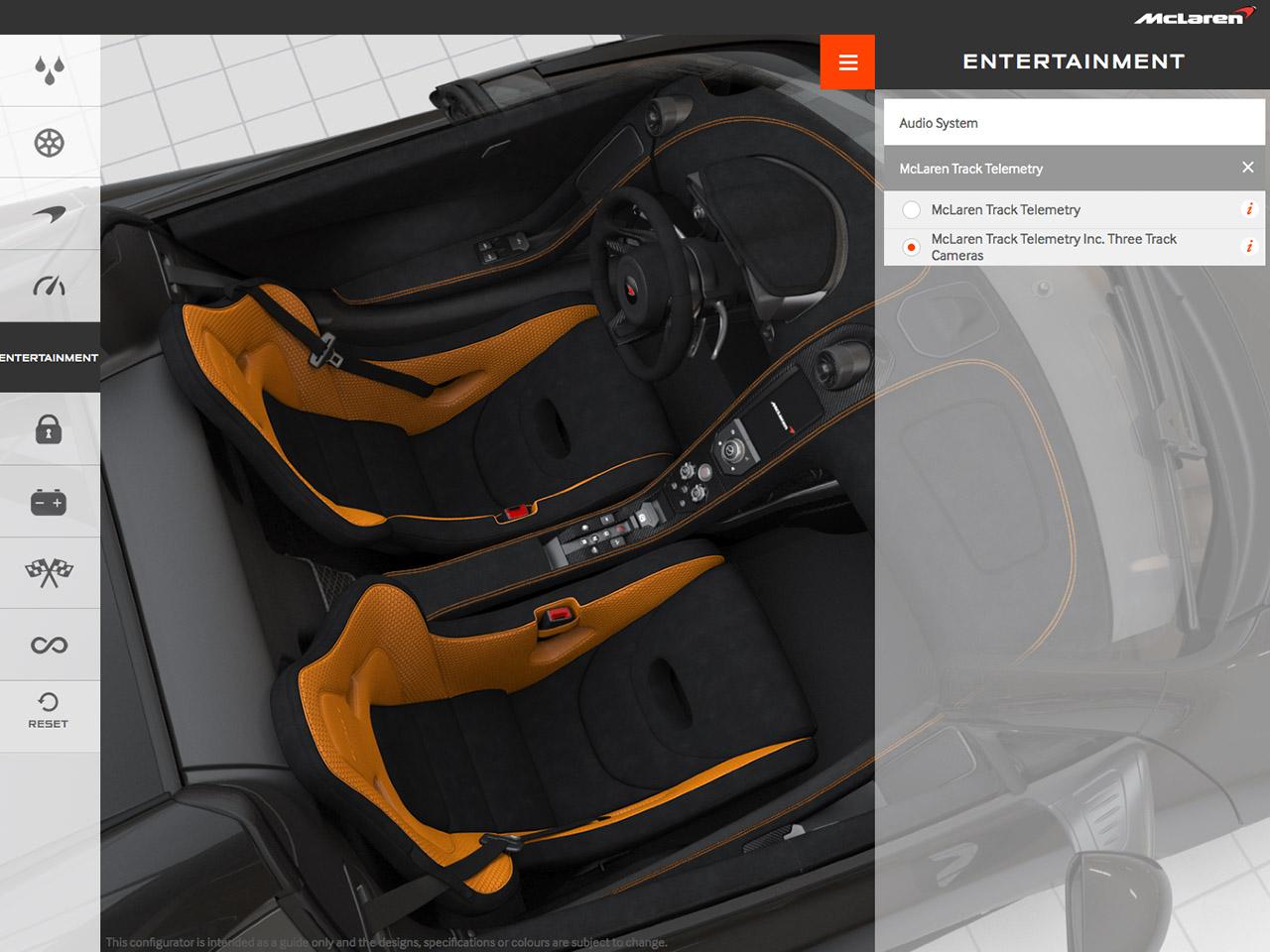 mclaren 675lt spider: konfigurator   autozeitung.de
