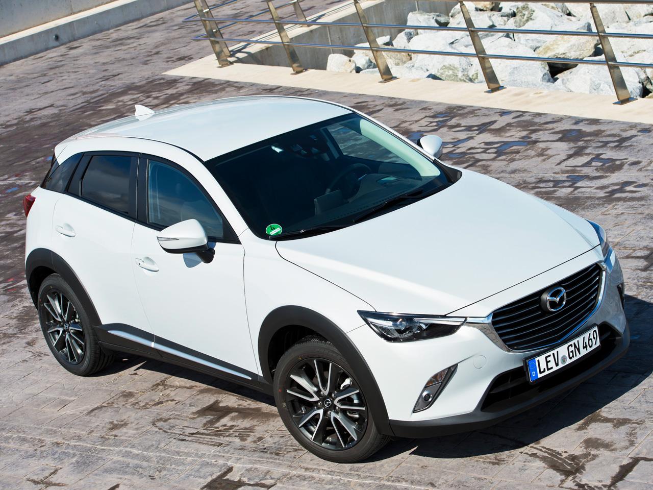 Mazda Cx 3 Skyactiv G 160 Awdcx 5 Vergleichstest Autozeitungde