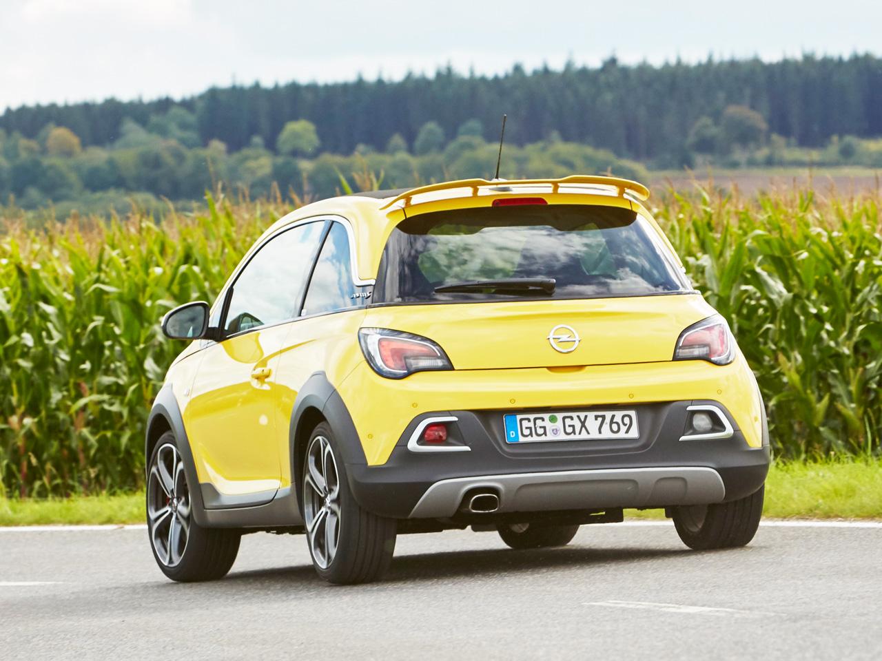 Opel Adam Rocks Technische Daten