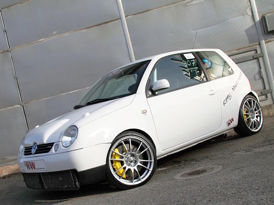 Vw Lupo Tuning Umbau Auf Zwei V6 Autozeitungde