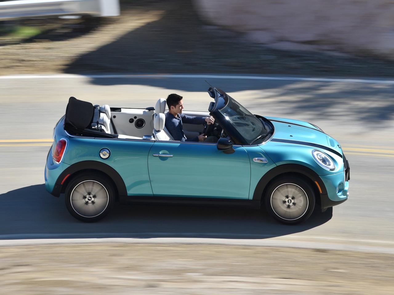 Neues Mini Cooper S Cabrio 2016 Erste Fahrt Autozeitungde
