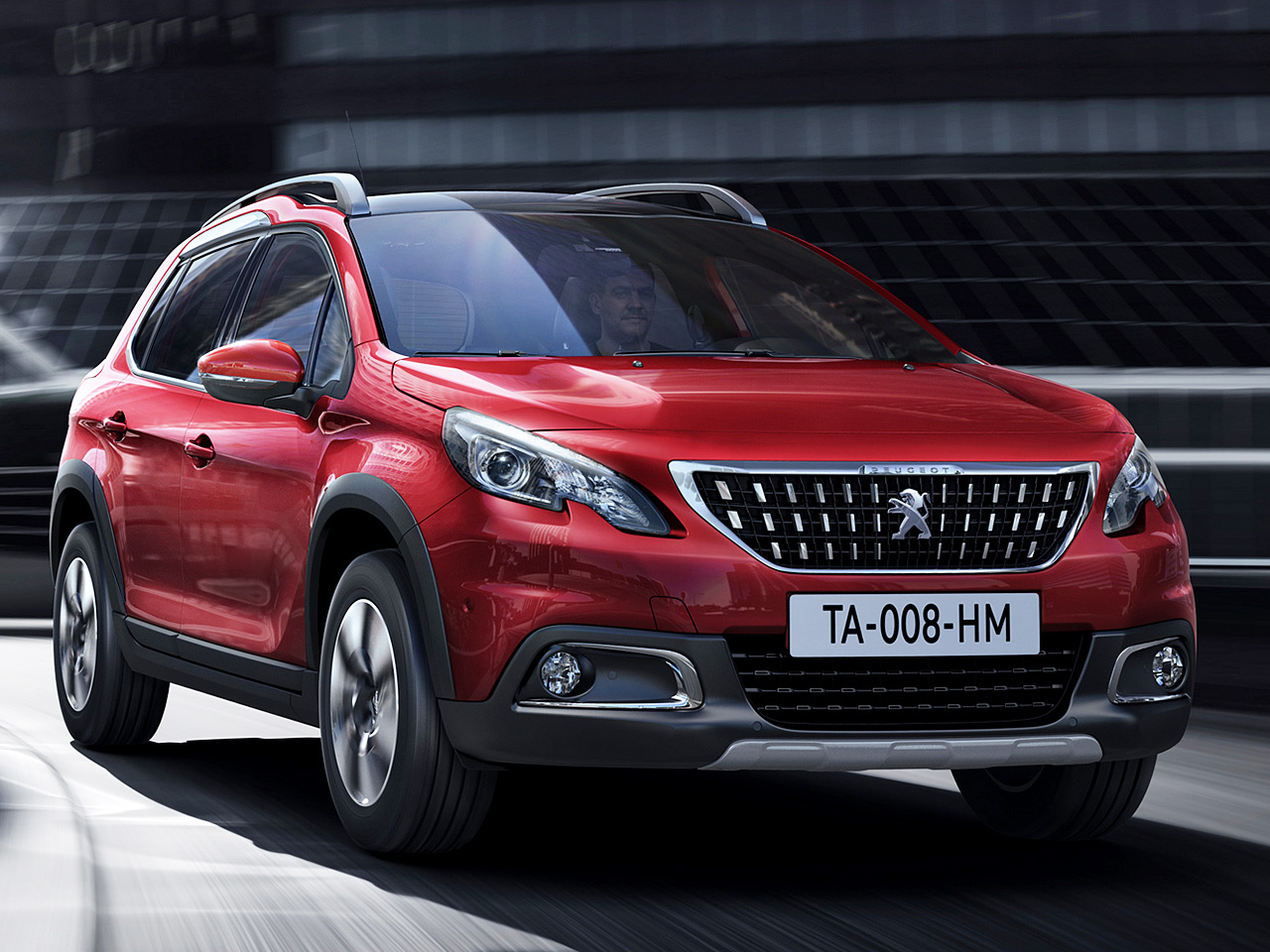 peugeot 2008 facelift 1 generation 2017 preis. Black Bedroom Furniture Sets. Home Design Ideas