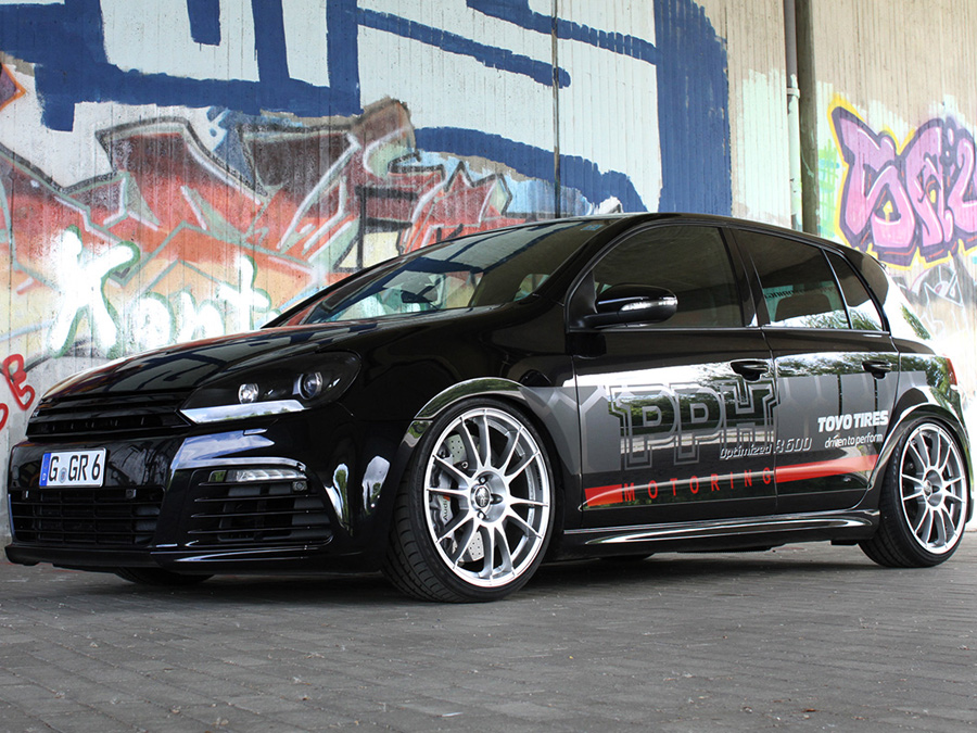 vw golf 6 r tuning von pph motoring. Black Bedroom Furniture Sets. Home Design Ideas