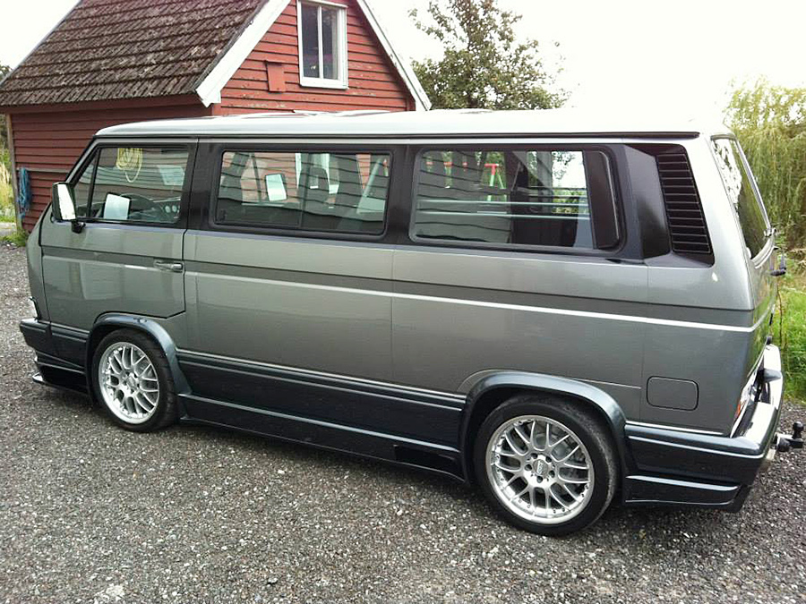 vw t3 caravelle coach mit v8 motor tuning. Black Bedroom Furniture Sets. Home Design Ideas