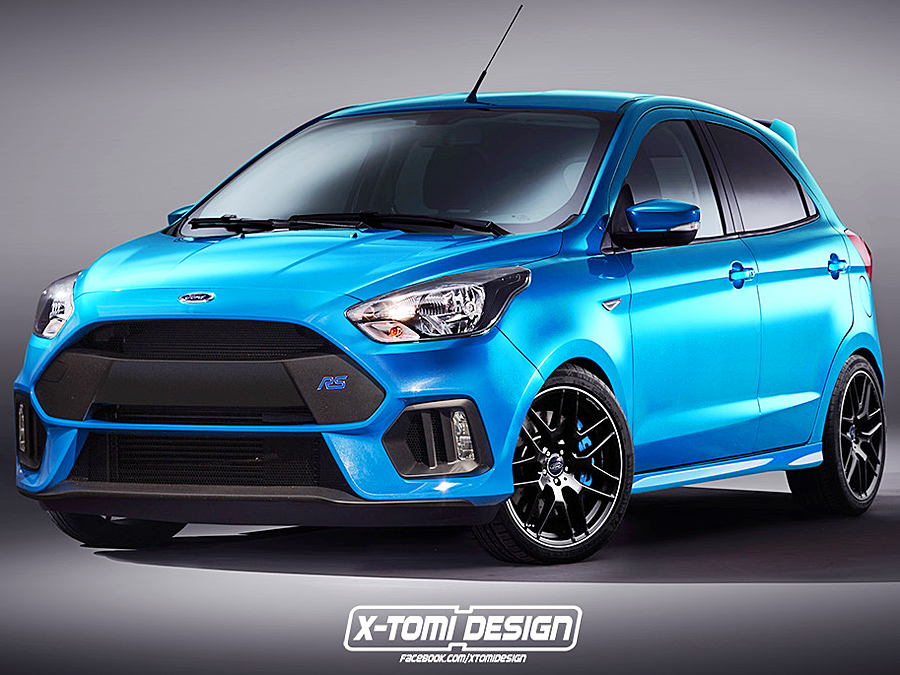 ford ka rs illustration autozeitungde