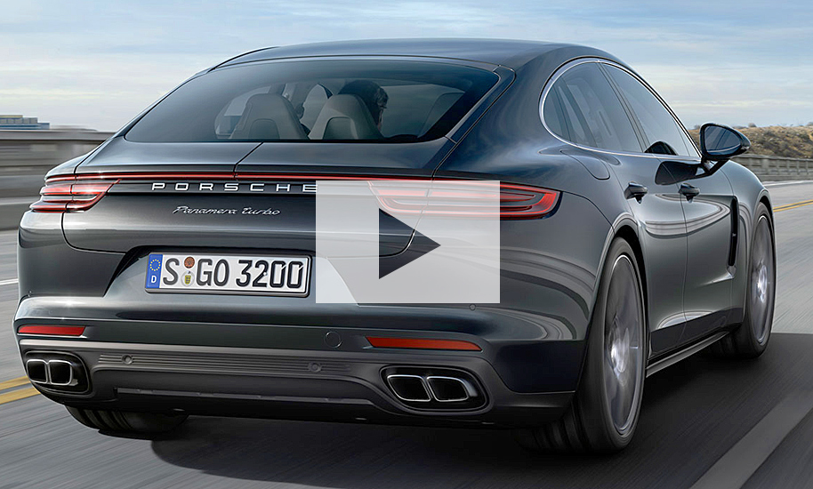 porsche panamera ii 2016 video. Black Bedroom Furniture Sets. Home Design Ideas
